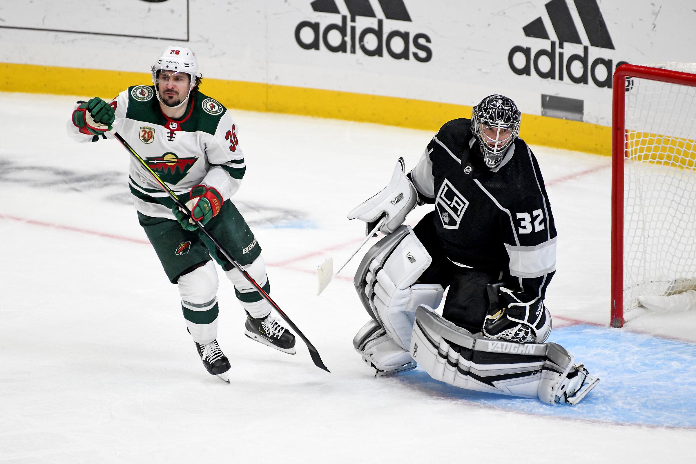 NHL: FEB 16 Wild at Kings