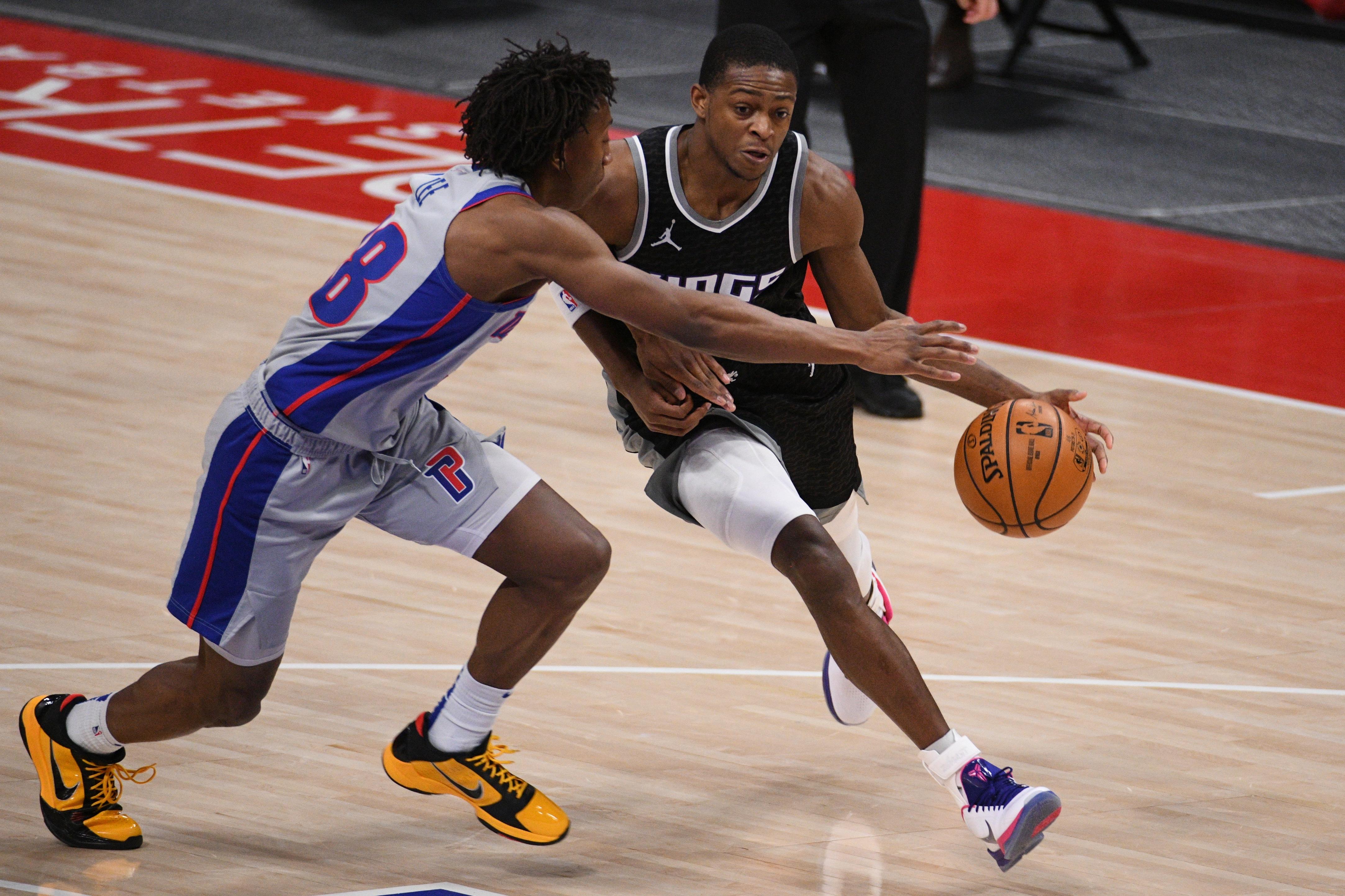 NBA: Sacramento Kings at Detroit Pistons