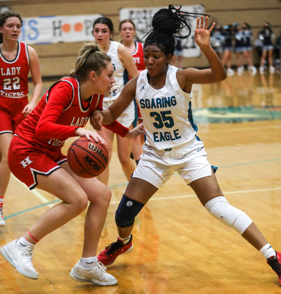 Juan Diego hosts Hurricane in a 4A girls basketball game on Friday, Feb. 26, 2021.