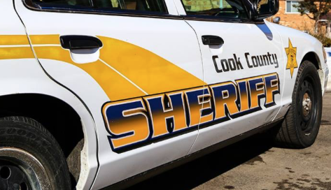 Two Cook County sheriff's police officers were injured in a crash Dec. 13 on I-290.