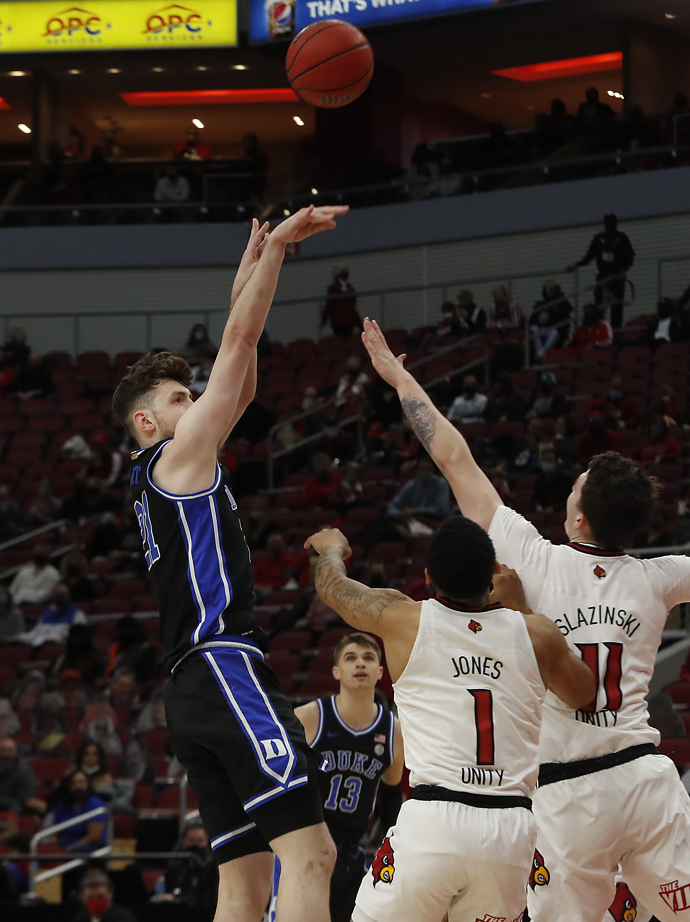NCAA Basketball: Duke at Louisville
