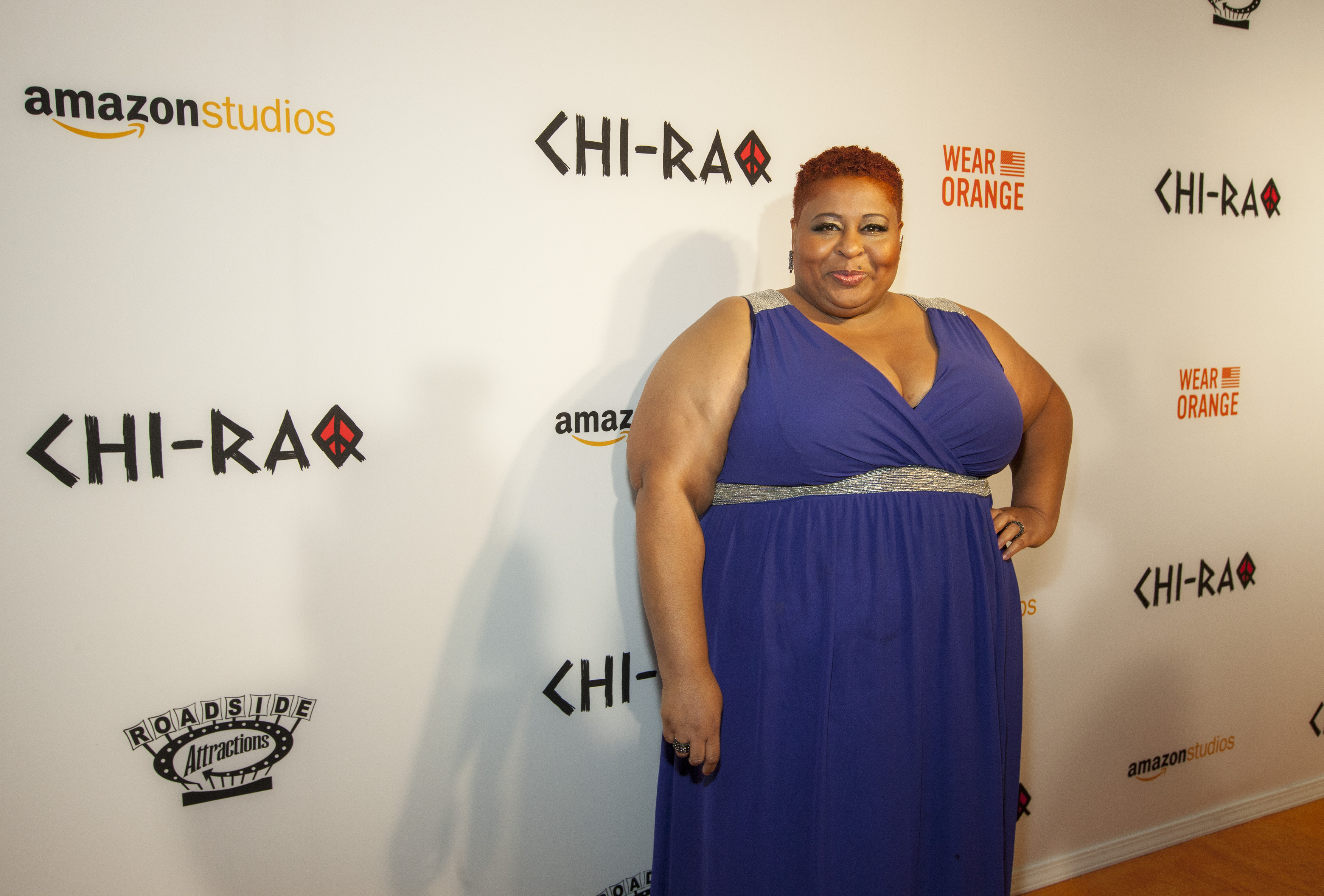 """Erica Watson attends the world premiere of """"Chi-Raq"""" at the Chicago Theatre in 2015."""