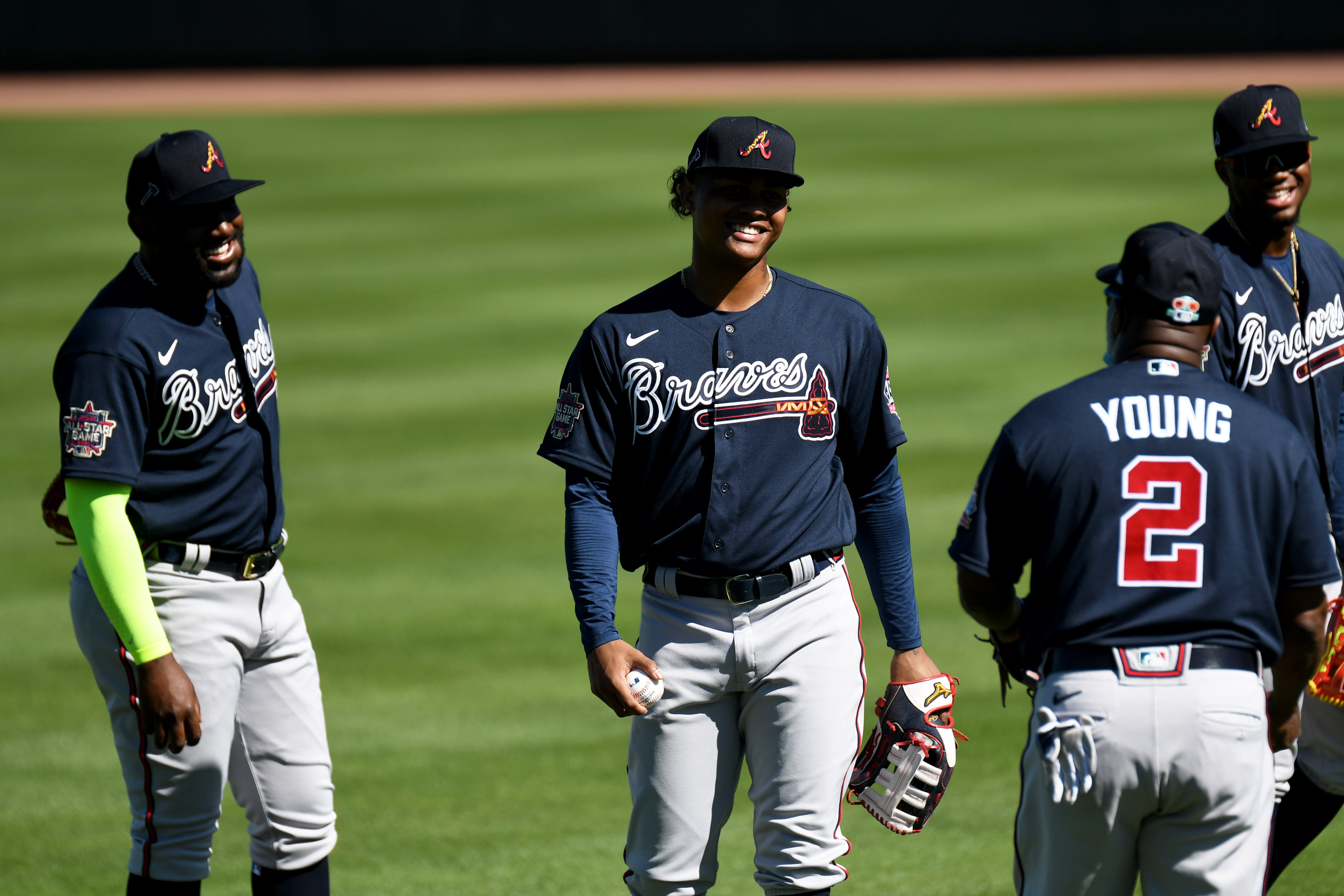MLB: Atlanta Braves-Workouts