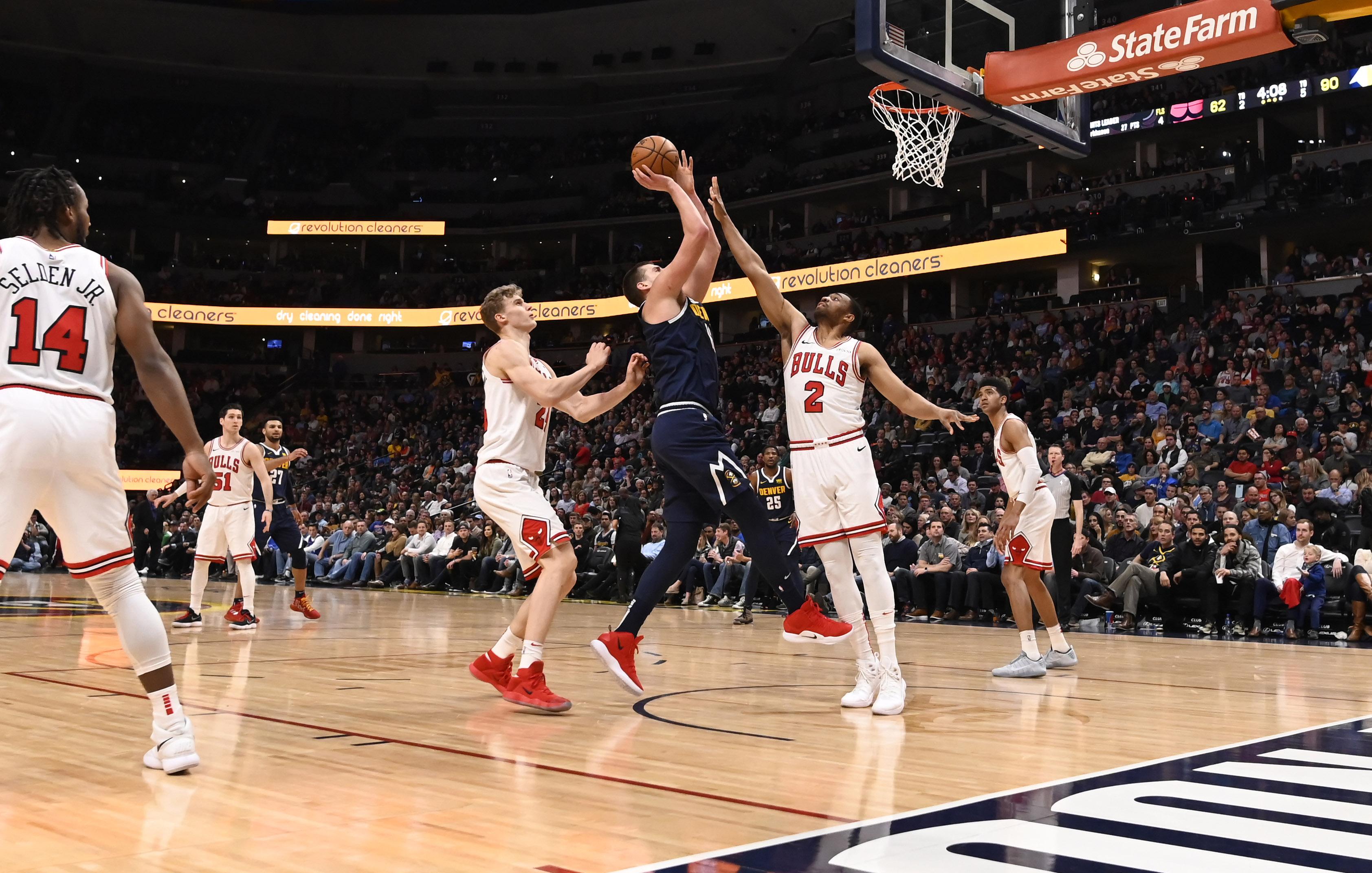 NBA: Chicago Bulls at Denver Nuggets
