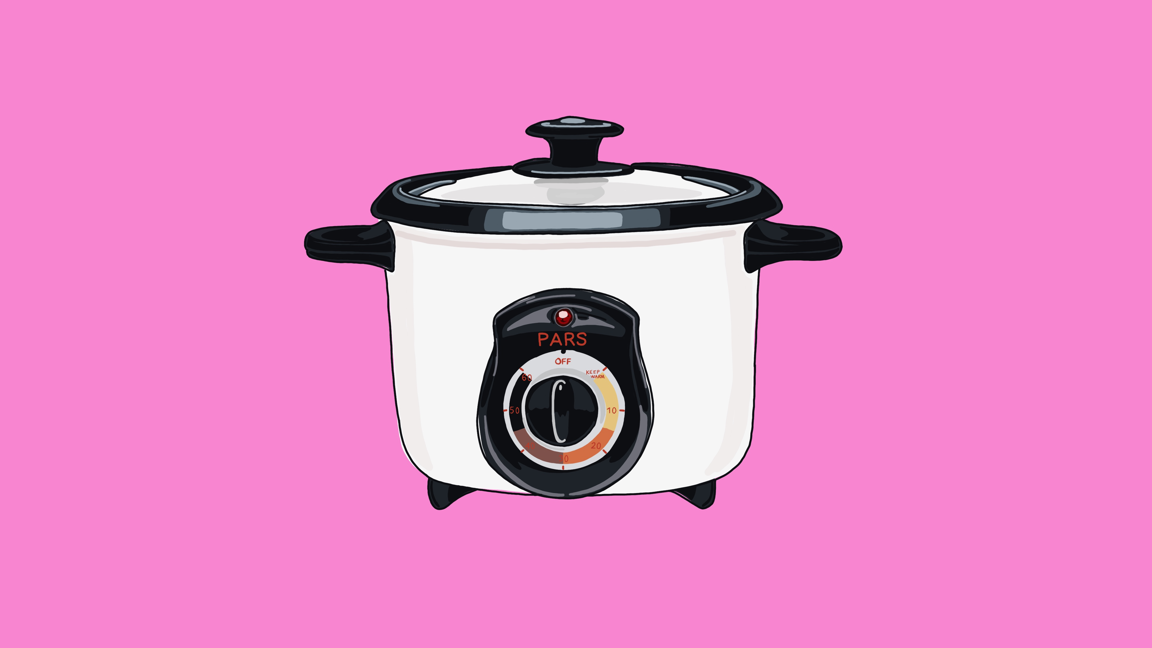 A rice cooker.