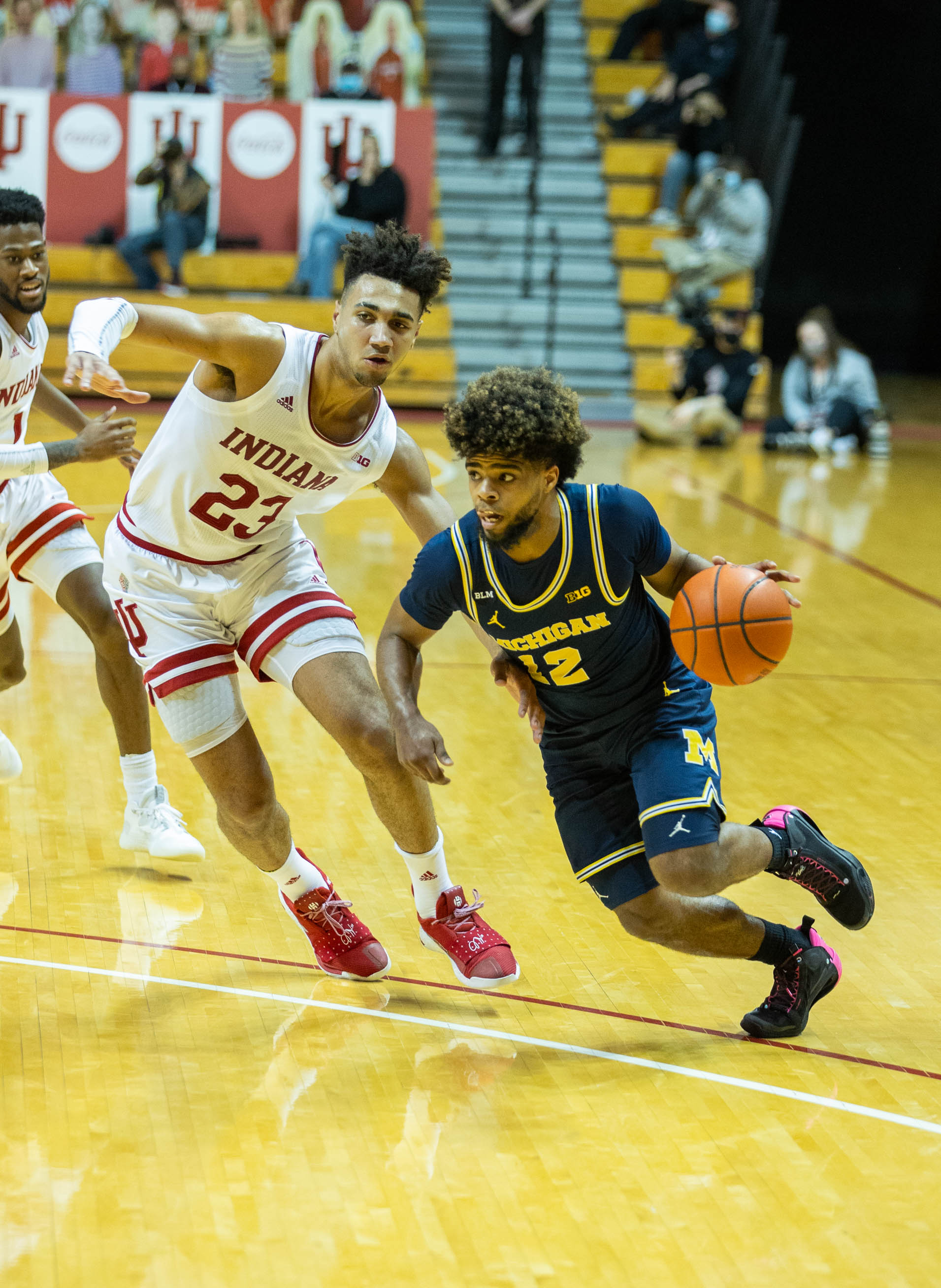 NCAA Basketball: Michigan at Indiana
