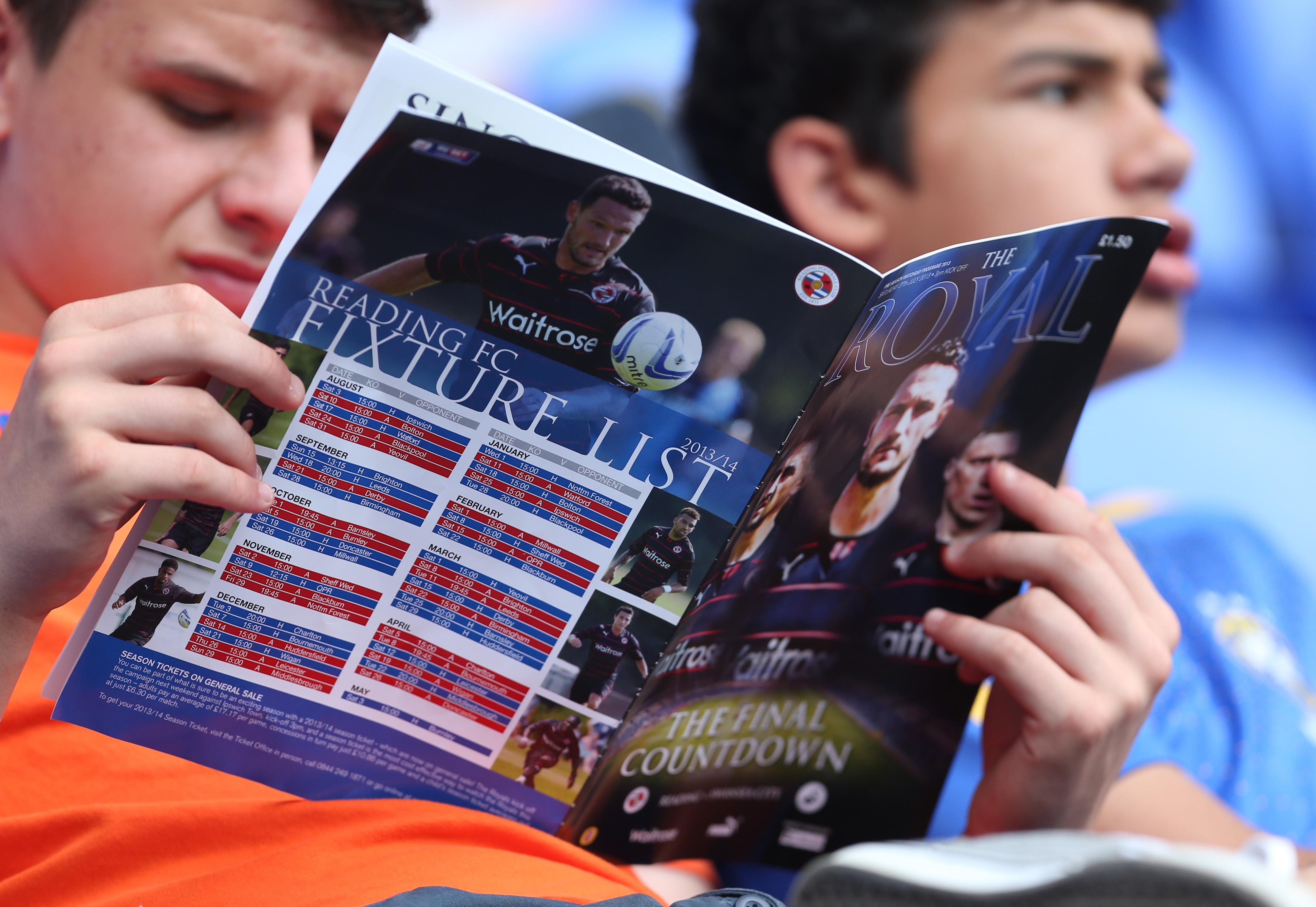 Soccer - Pre-season Friendly - Reading v Swansea City