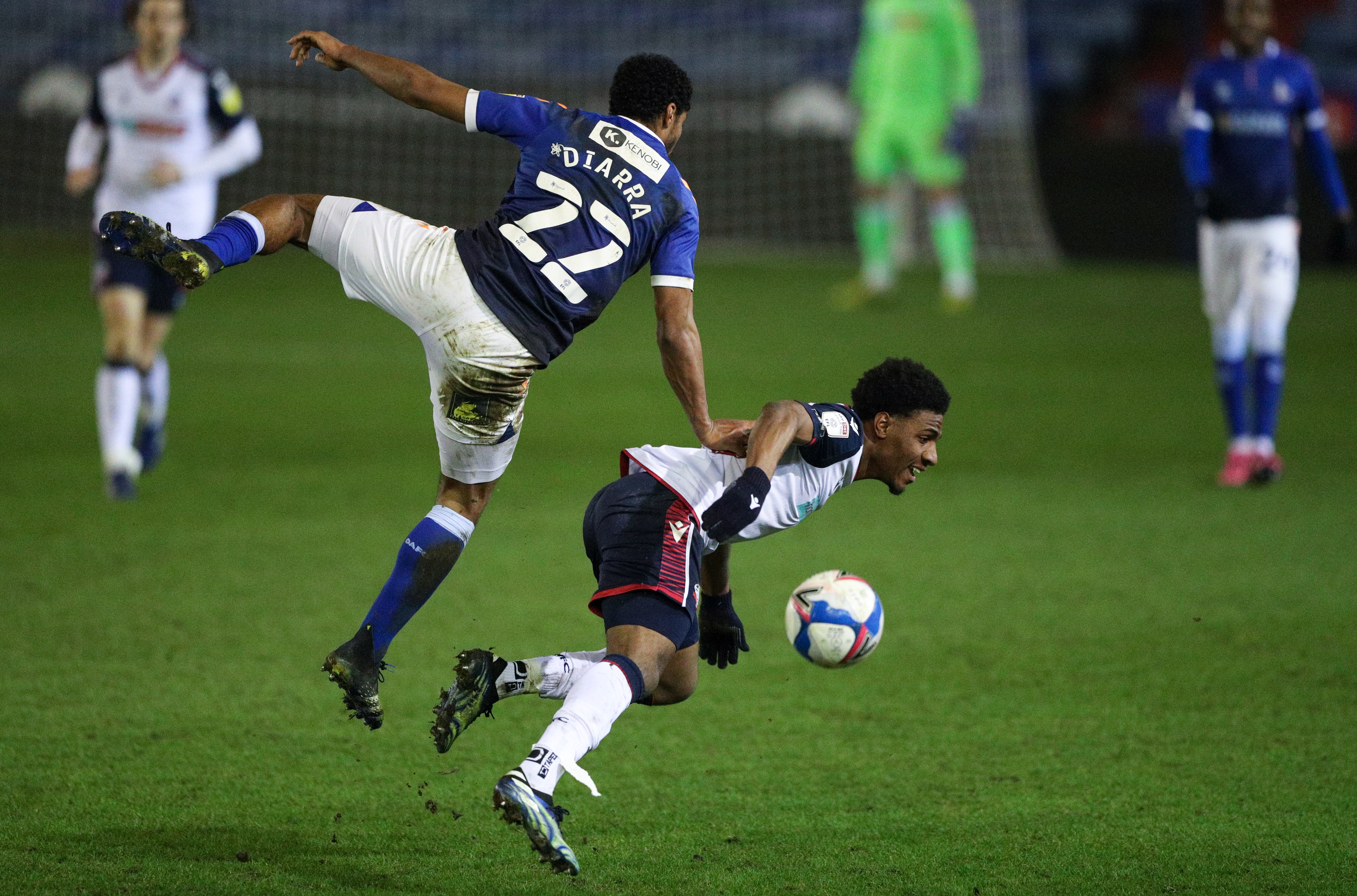 Oldham Athletic v Bolton Wanderers - Sky Bet League Two