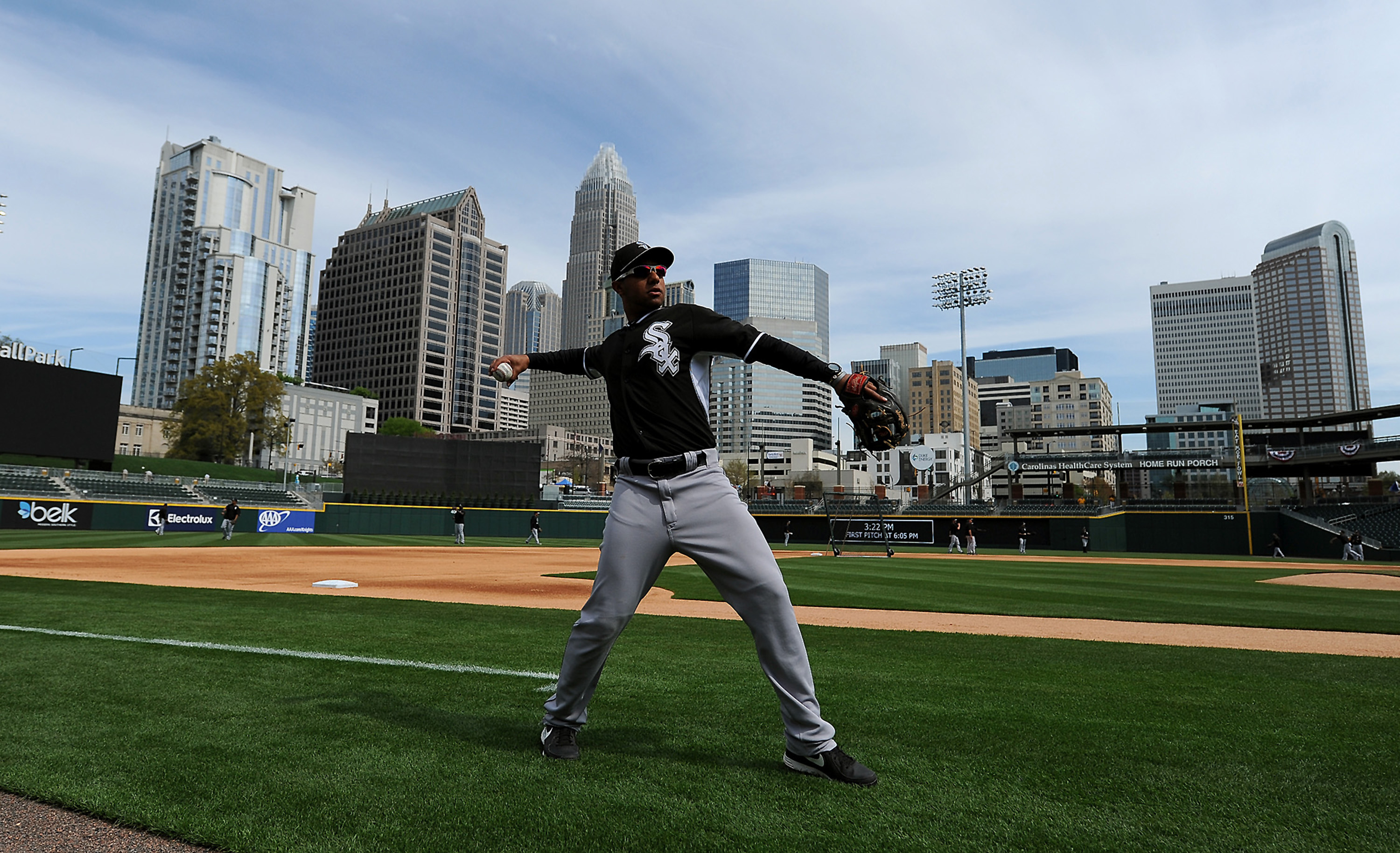 MLB exhibition: Chicago White Sox at Charlotte Knights