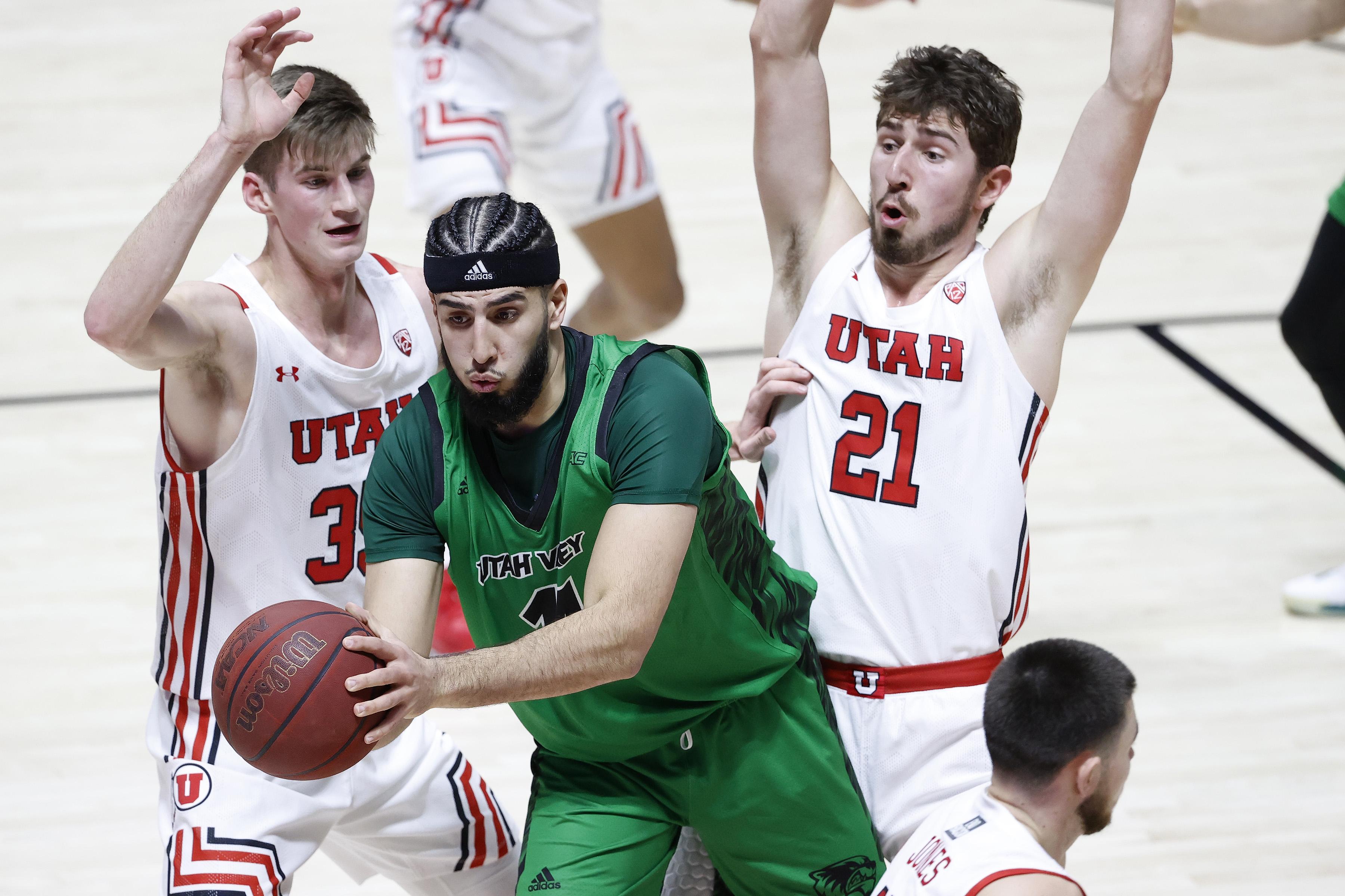 NCAA Basketball: Utah Valley at Utah