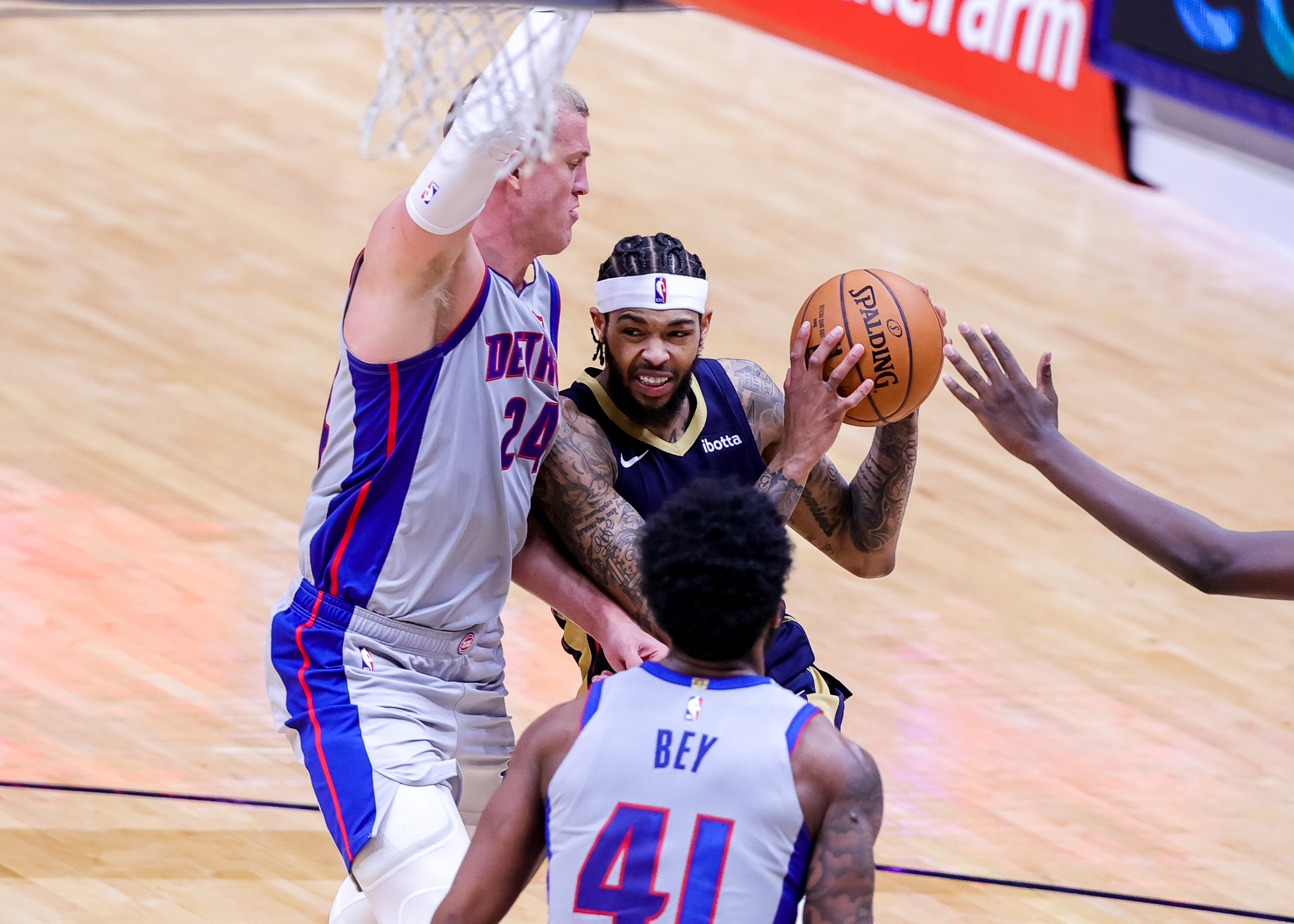 NBA: Detroit Pistons at New Orleans Pelicans