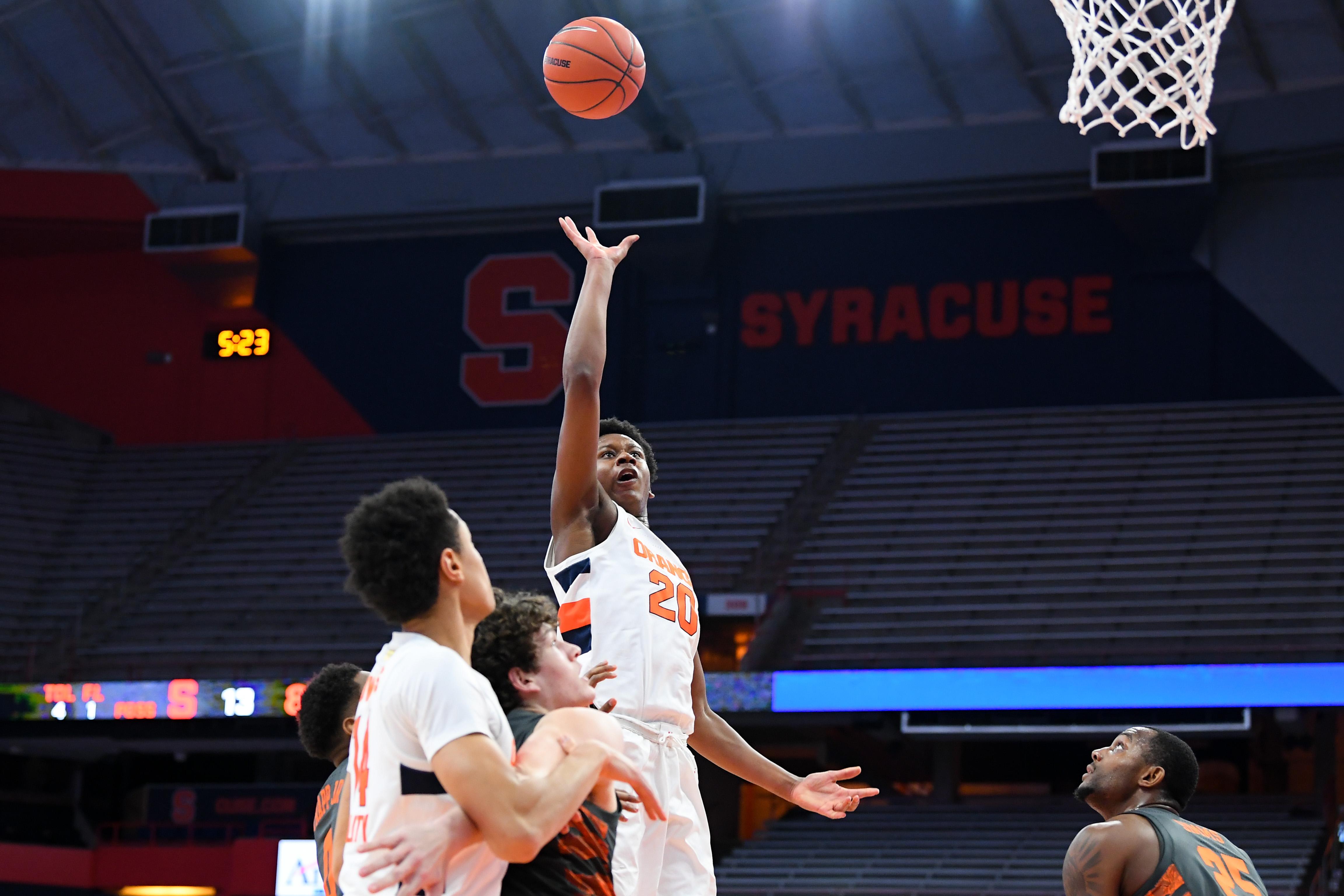 NCAA Basketball: Clemson at Syracuse