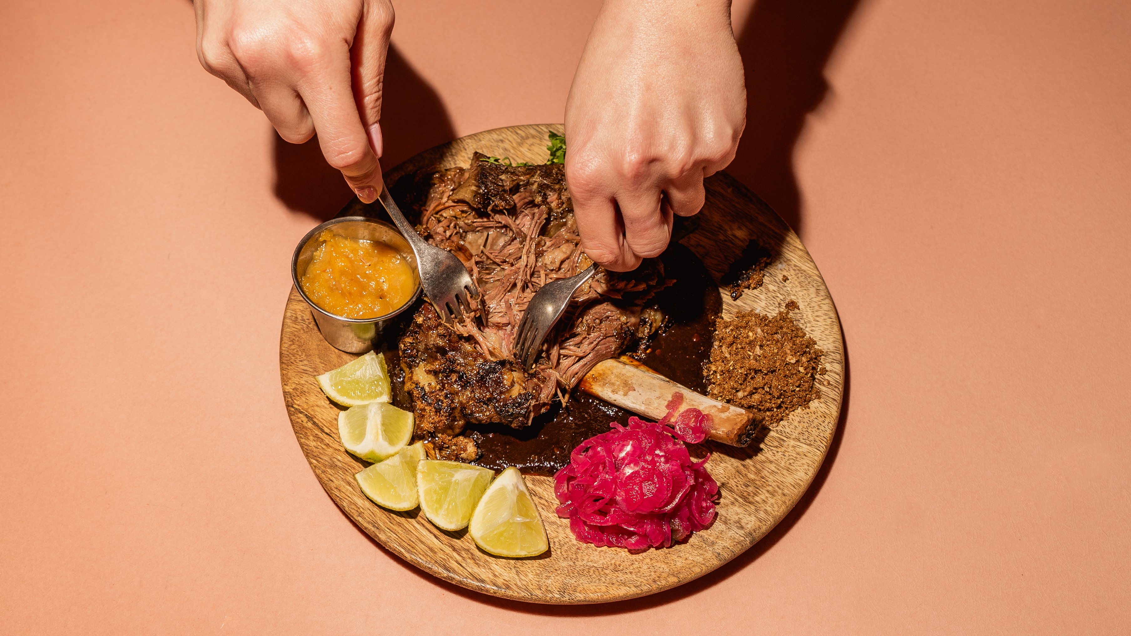 Coal Drops Yard restaurant development at King's Cross London is now open, featuring these tacos from El Pastor