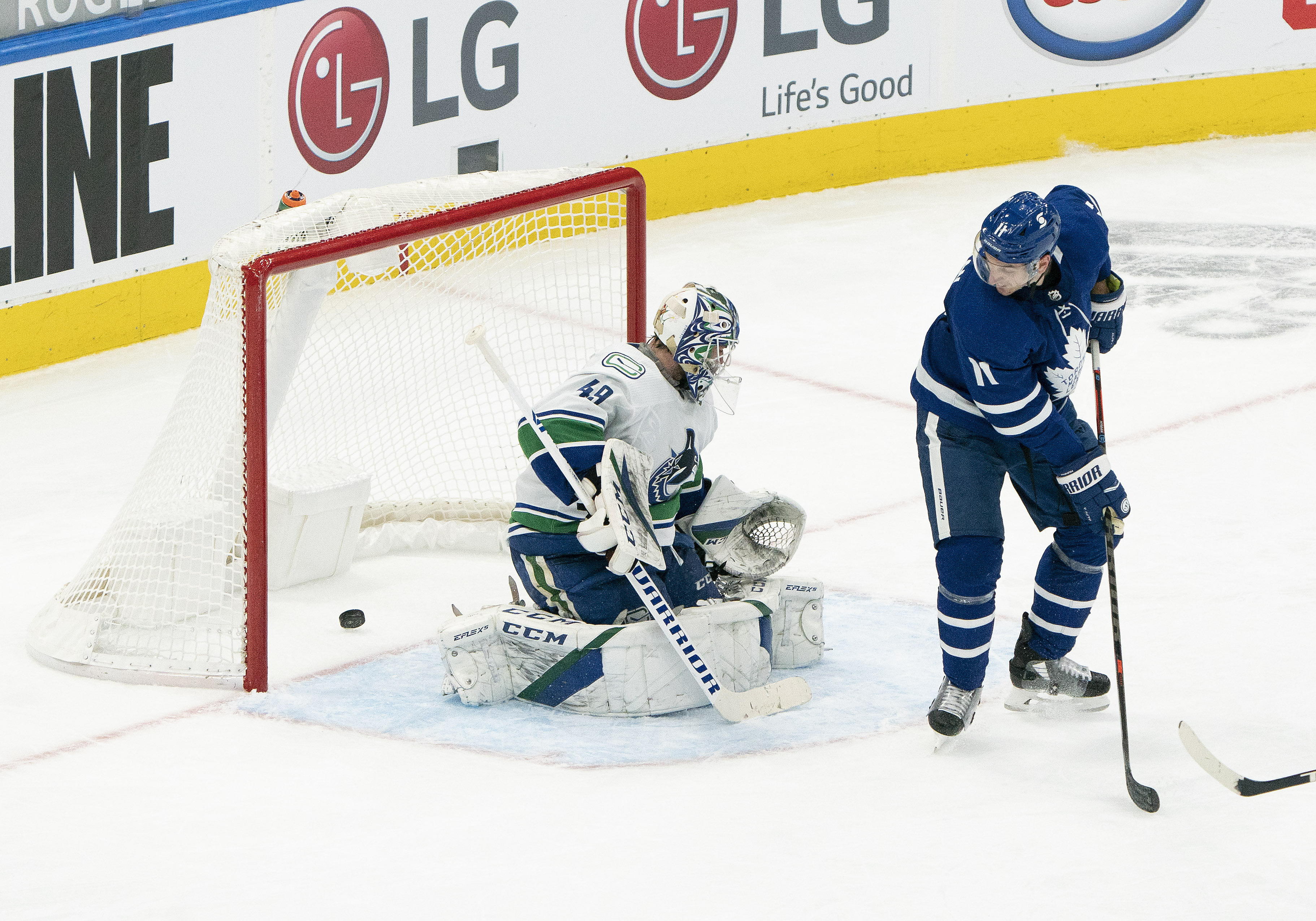 NHL: Vancouver Canucks at Toronto Maple Leafs