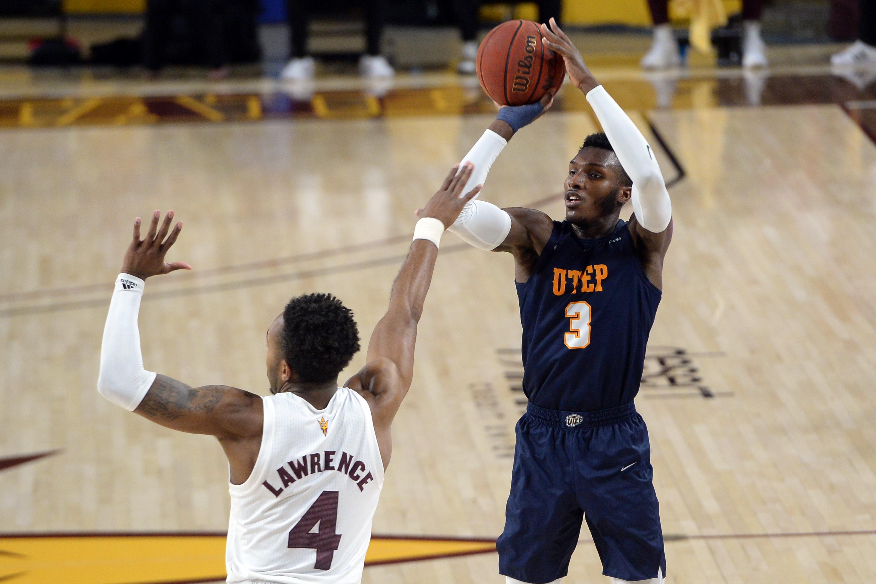 NCAA Basketball: Texas-El Paso at Arizona State