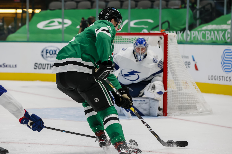 NHL: MAR 02 Lightning at Stars