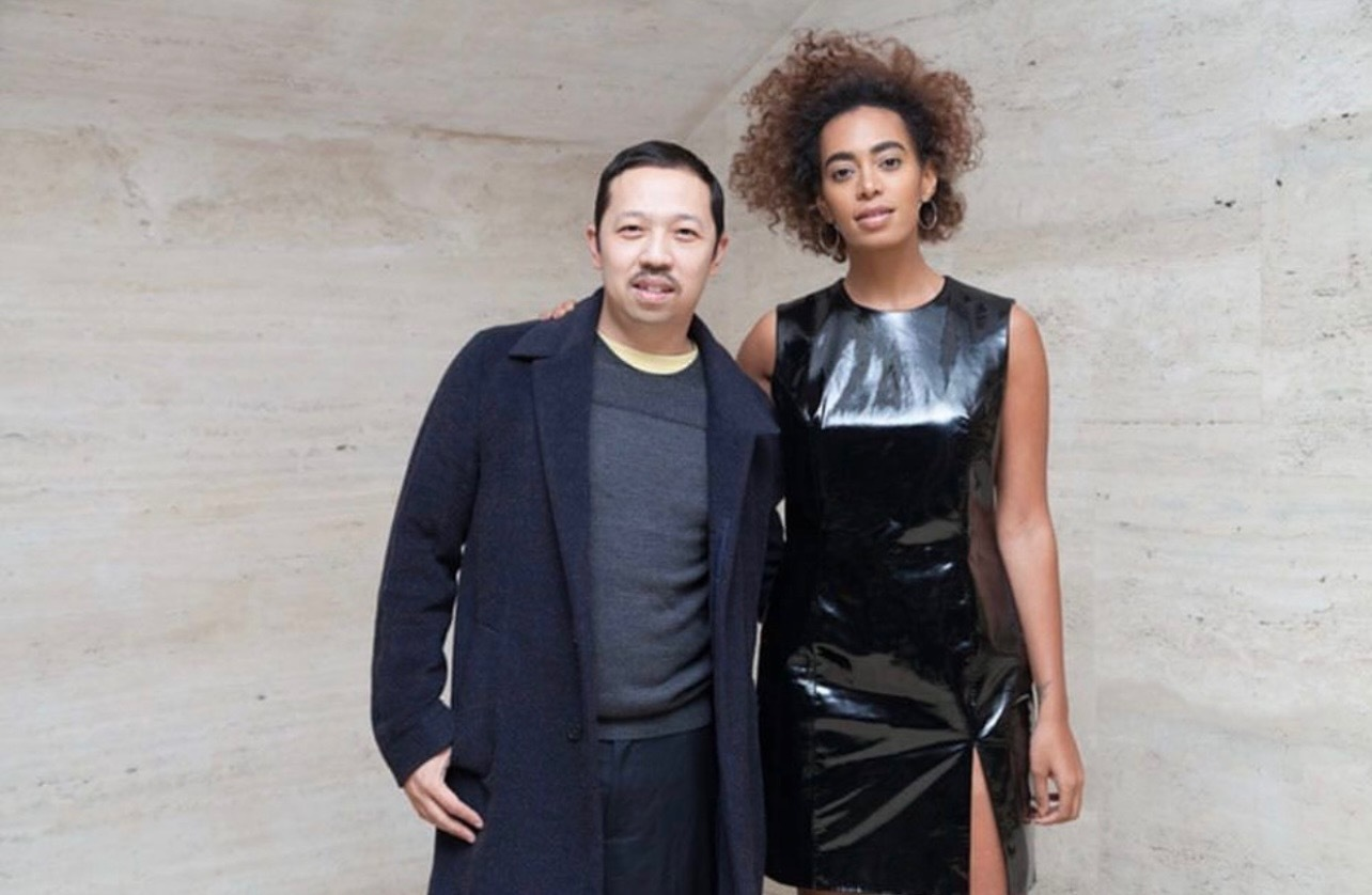 Humberto Leon and Solange Knowles in New York City in 2017.