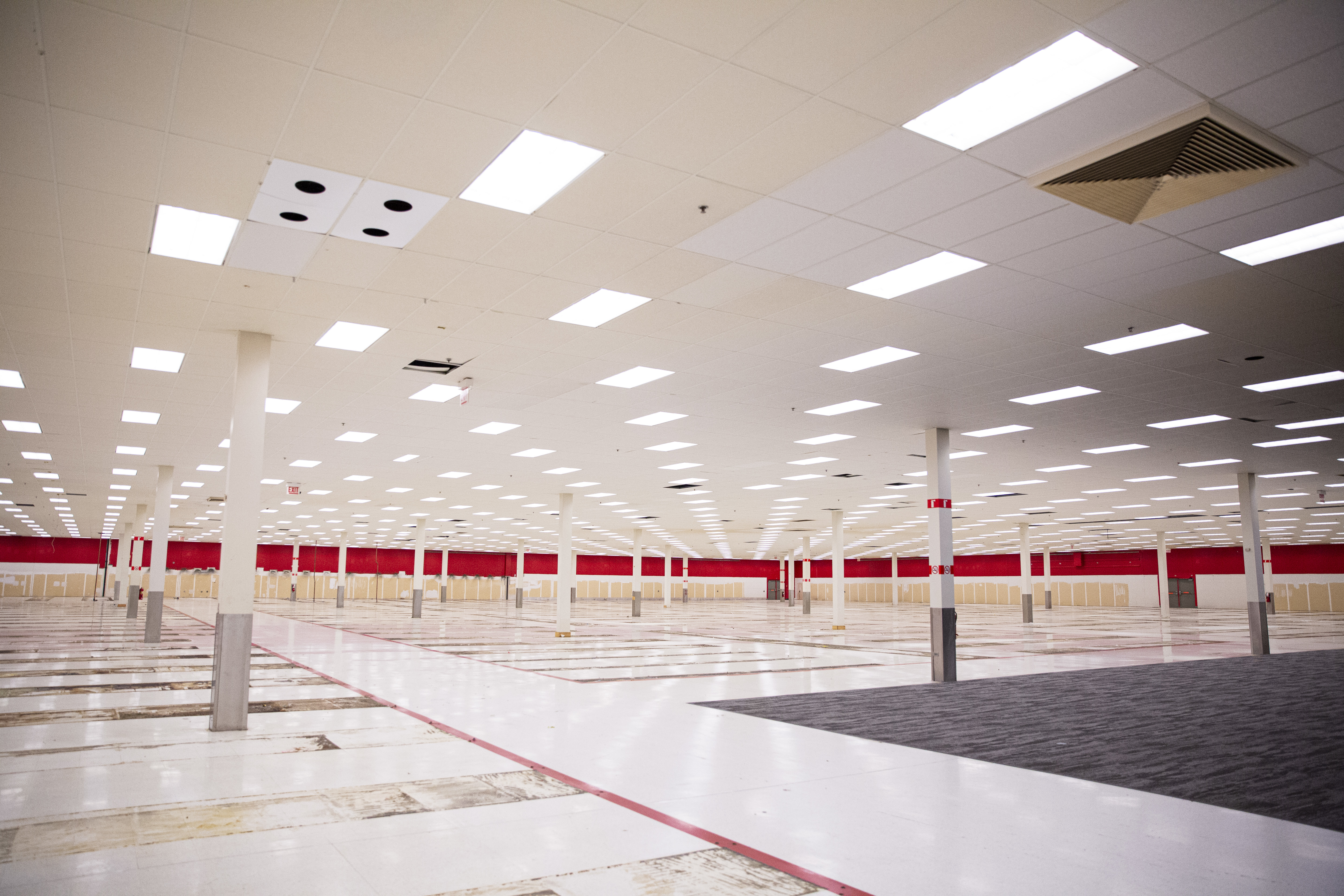 This former Target store at 8560 S. Cottage Grove Ave. in Chatham will be converted into a Discover customer care center.