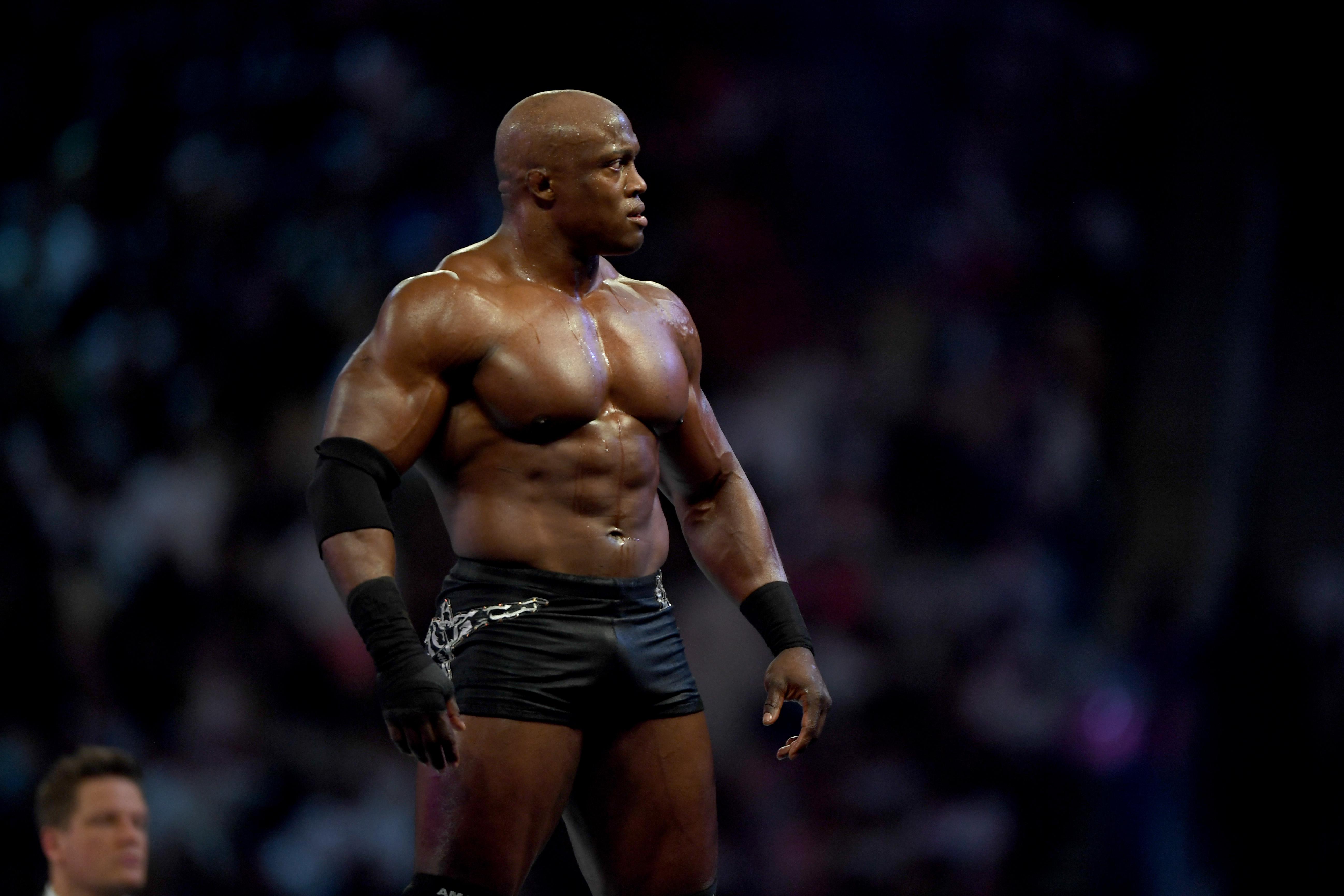 沙特-摔跤-娱乐-WWE