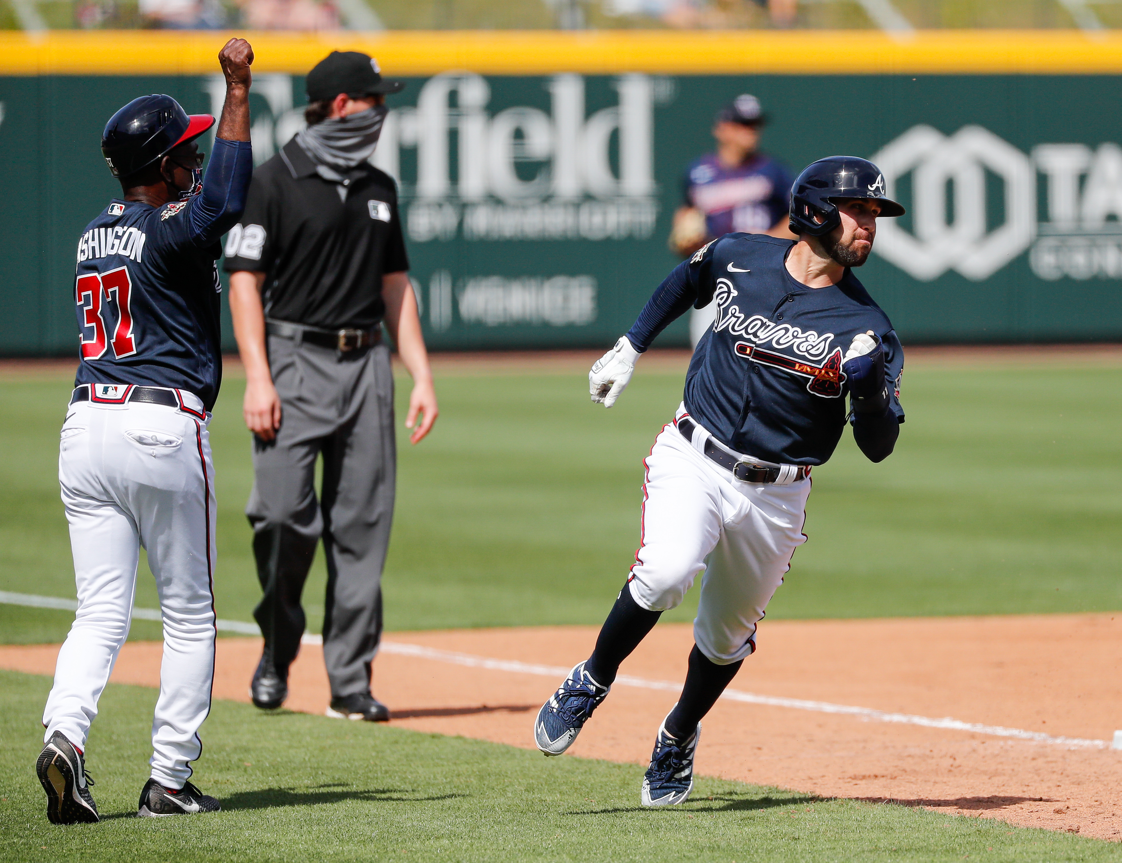 MLB: Minnesota Twins at Atlanta Braves