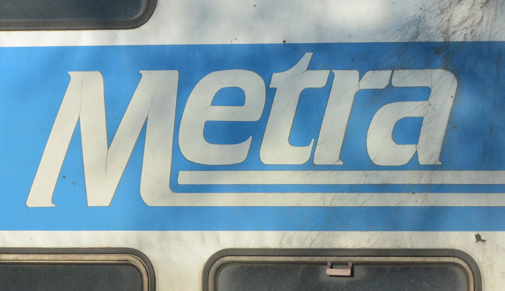 A person was struck by a Metra train March 4, 2021, near Lake Bluff.