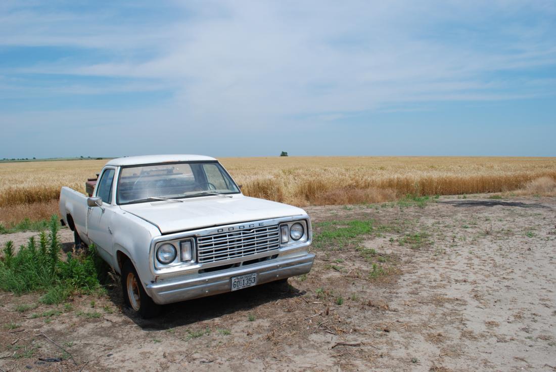 Old Truck Wheat Field