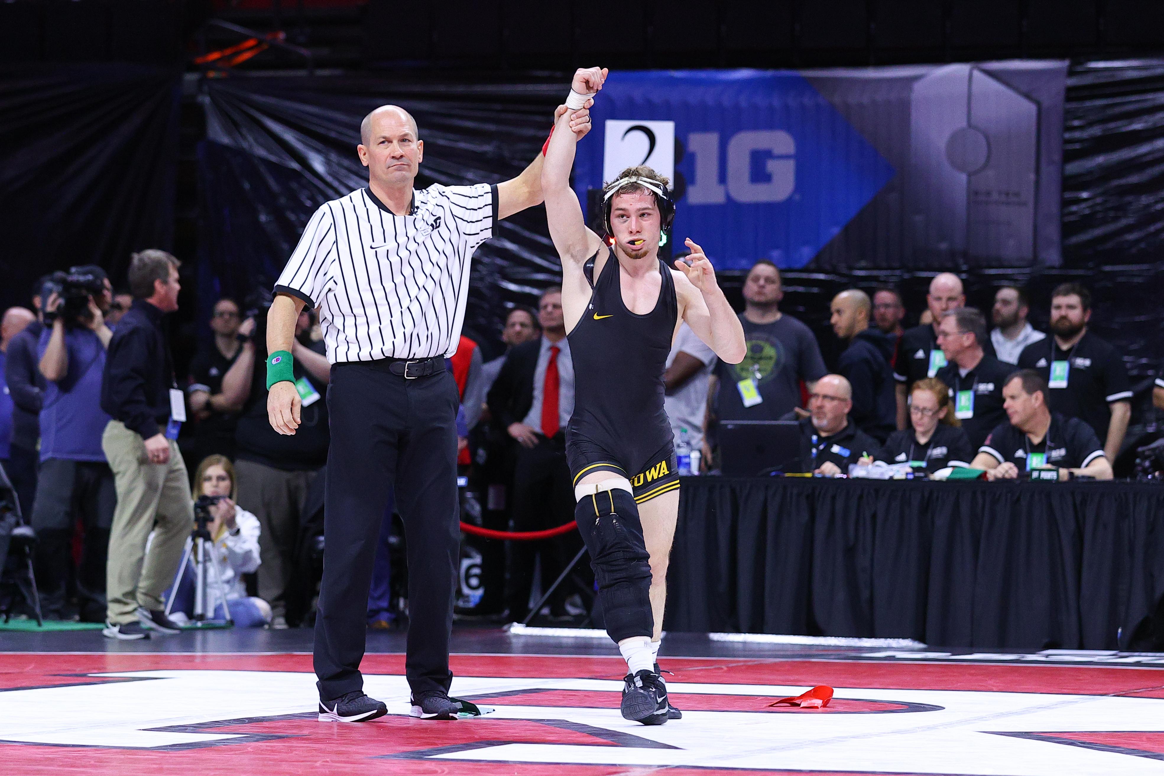 COLLEGE WRESTLING: MAR 08 Big Ten Wrestling Championships