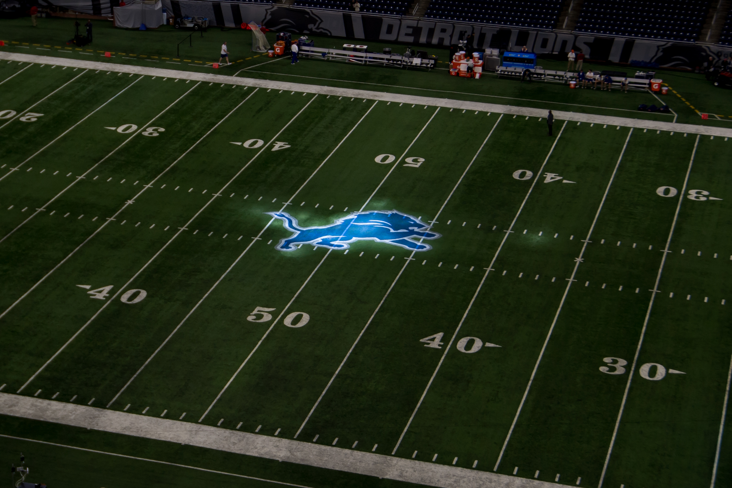 NFL: DEC 16 Bears at Lions