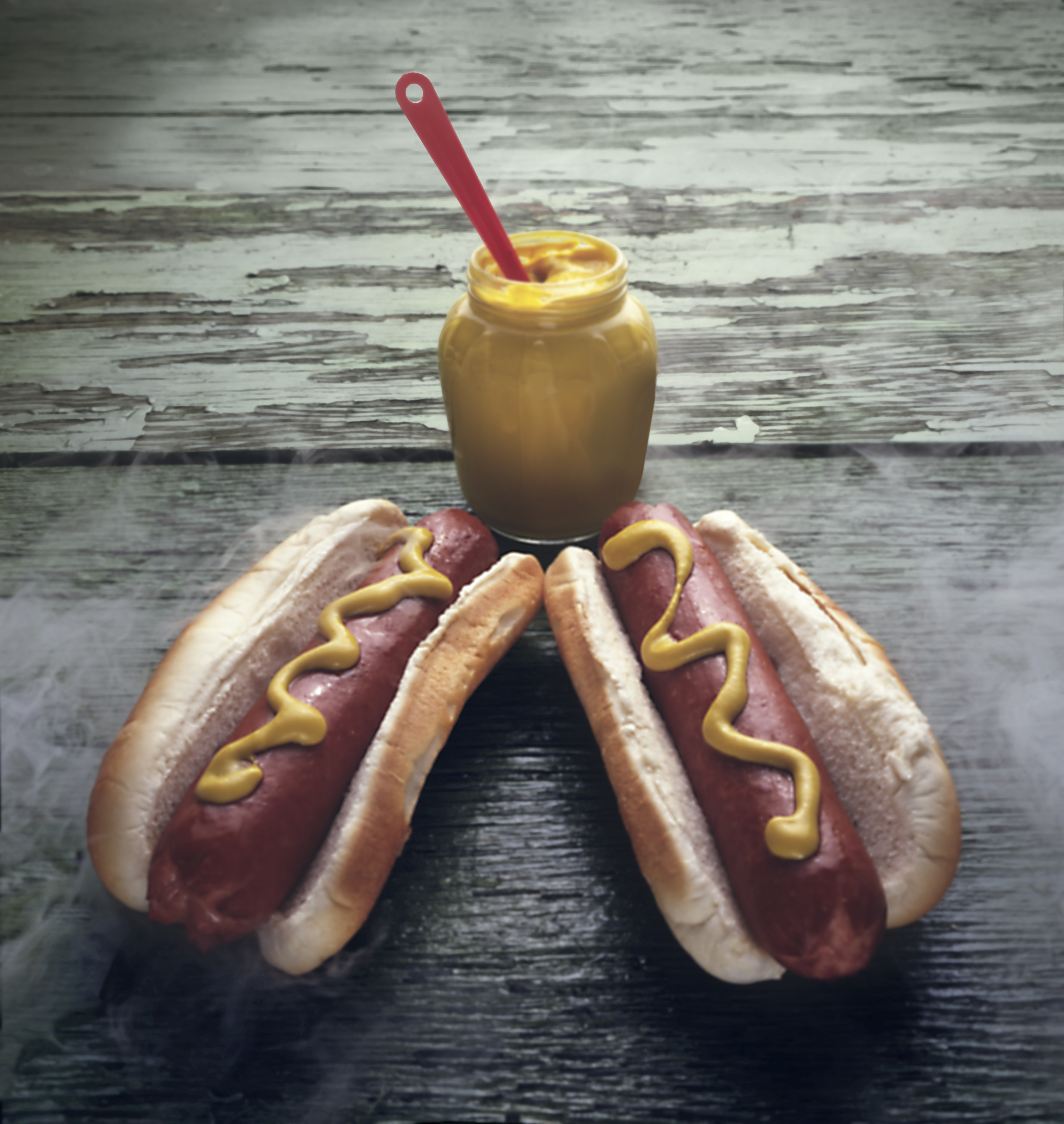 Still Life With Hot Dogs