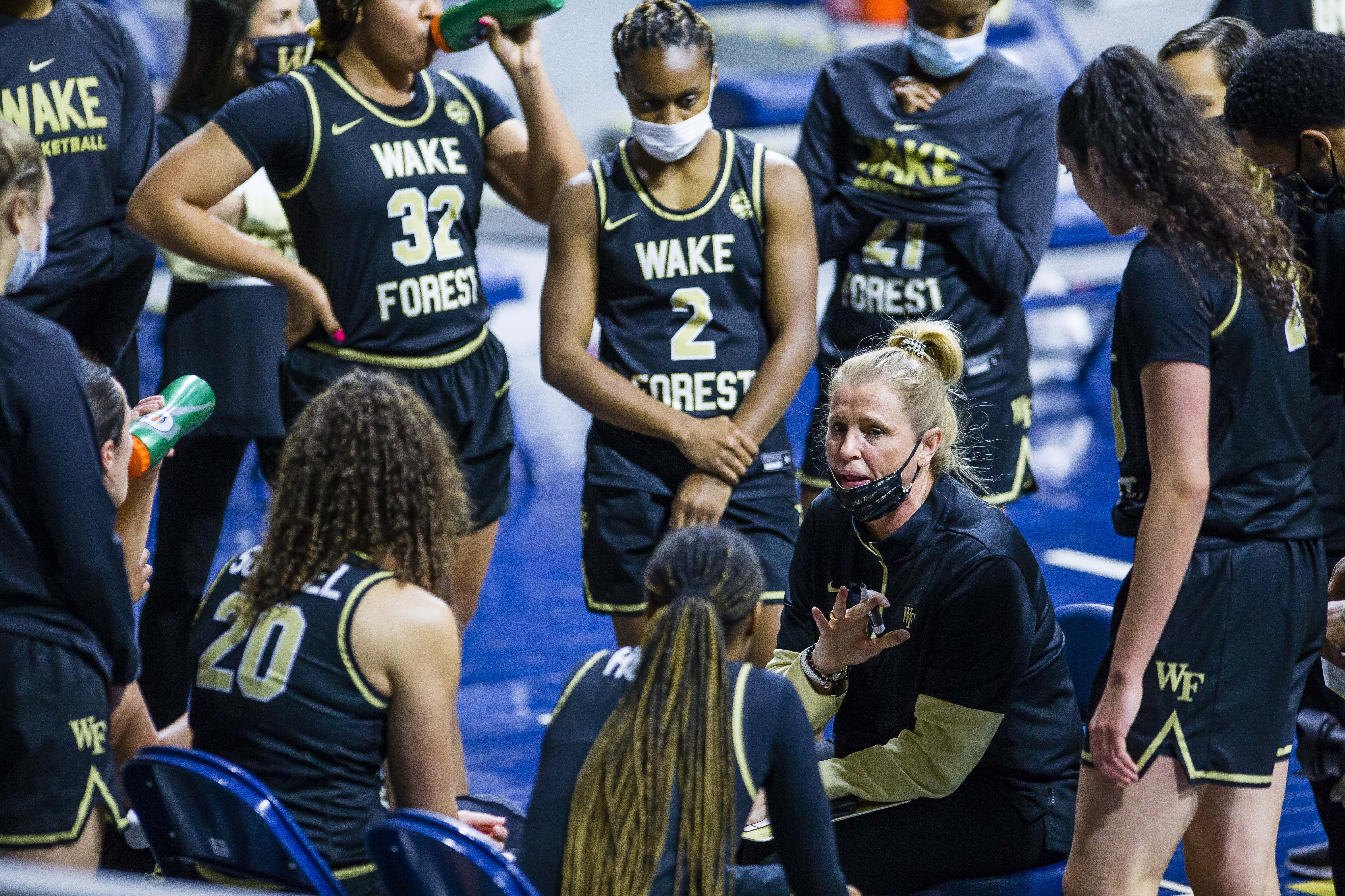 NCAA Women's Basketball: Wake Forest at Notre Dame