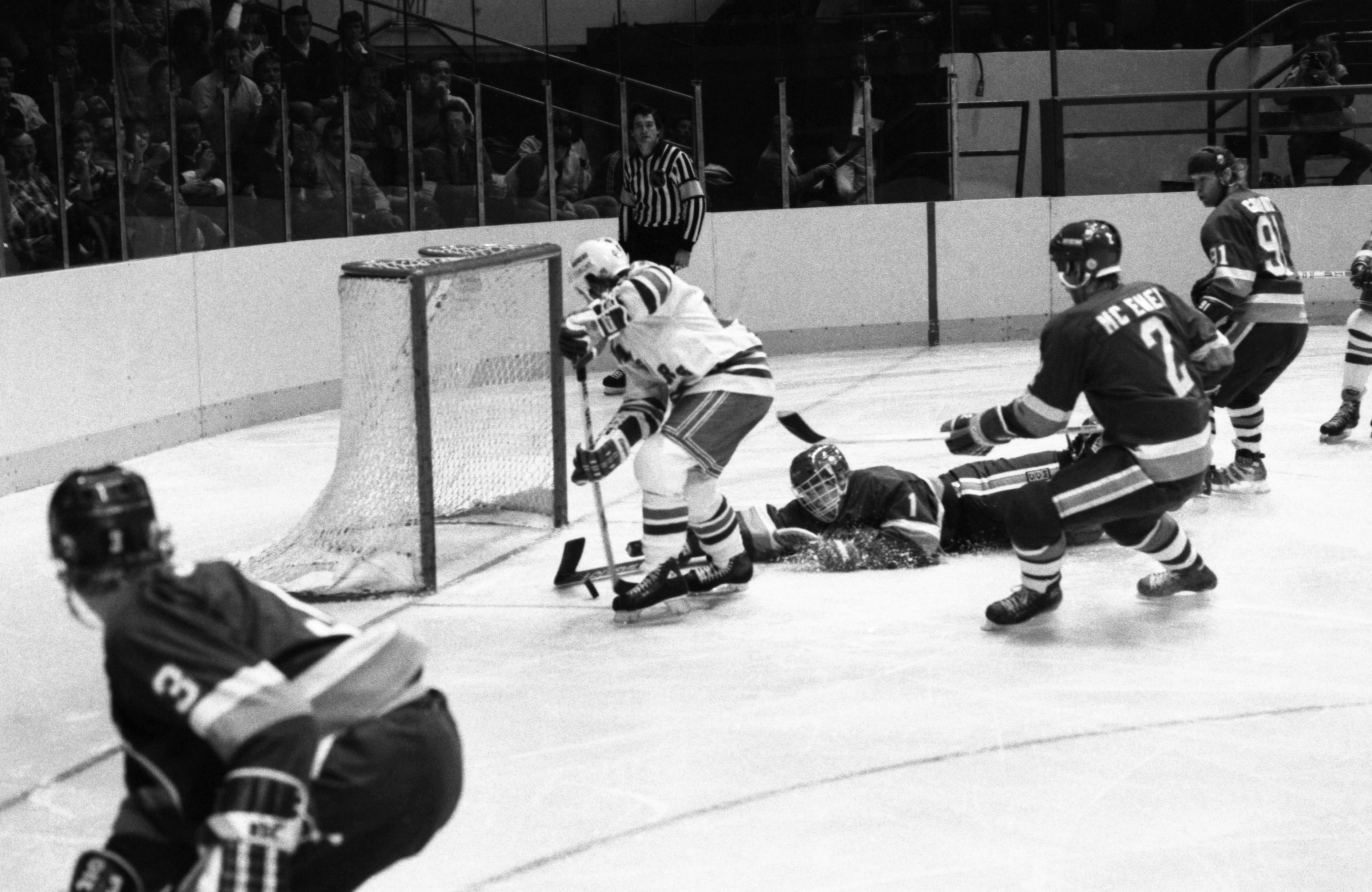 New York Islanders Goalie Roland Melanson