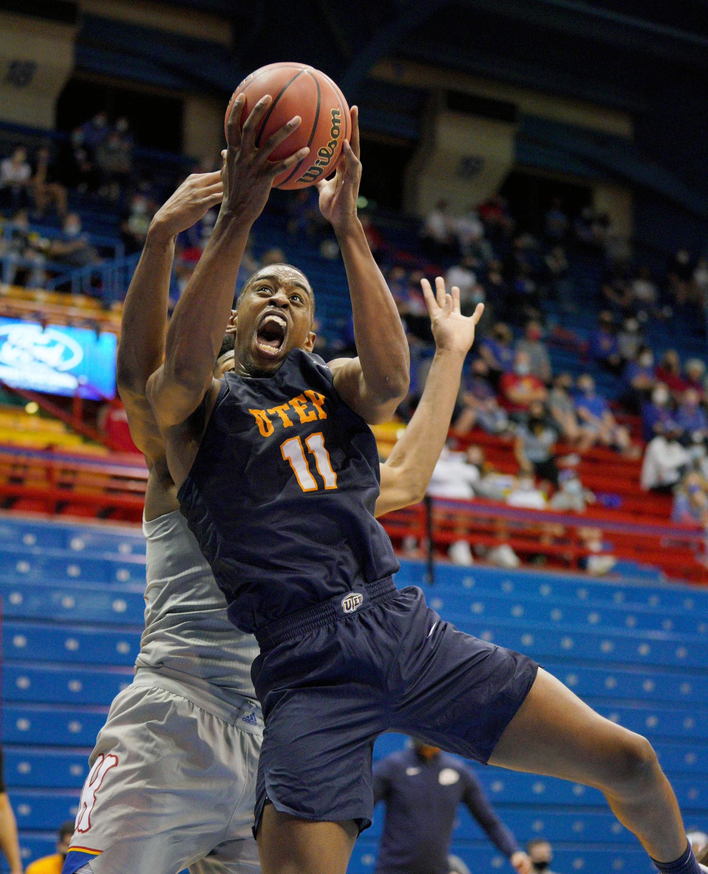 NCAA Basketball: Texas-El Paso at Kansas