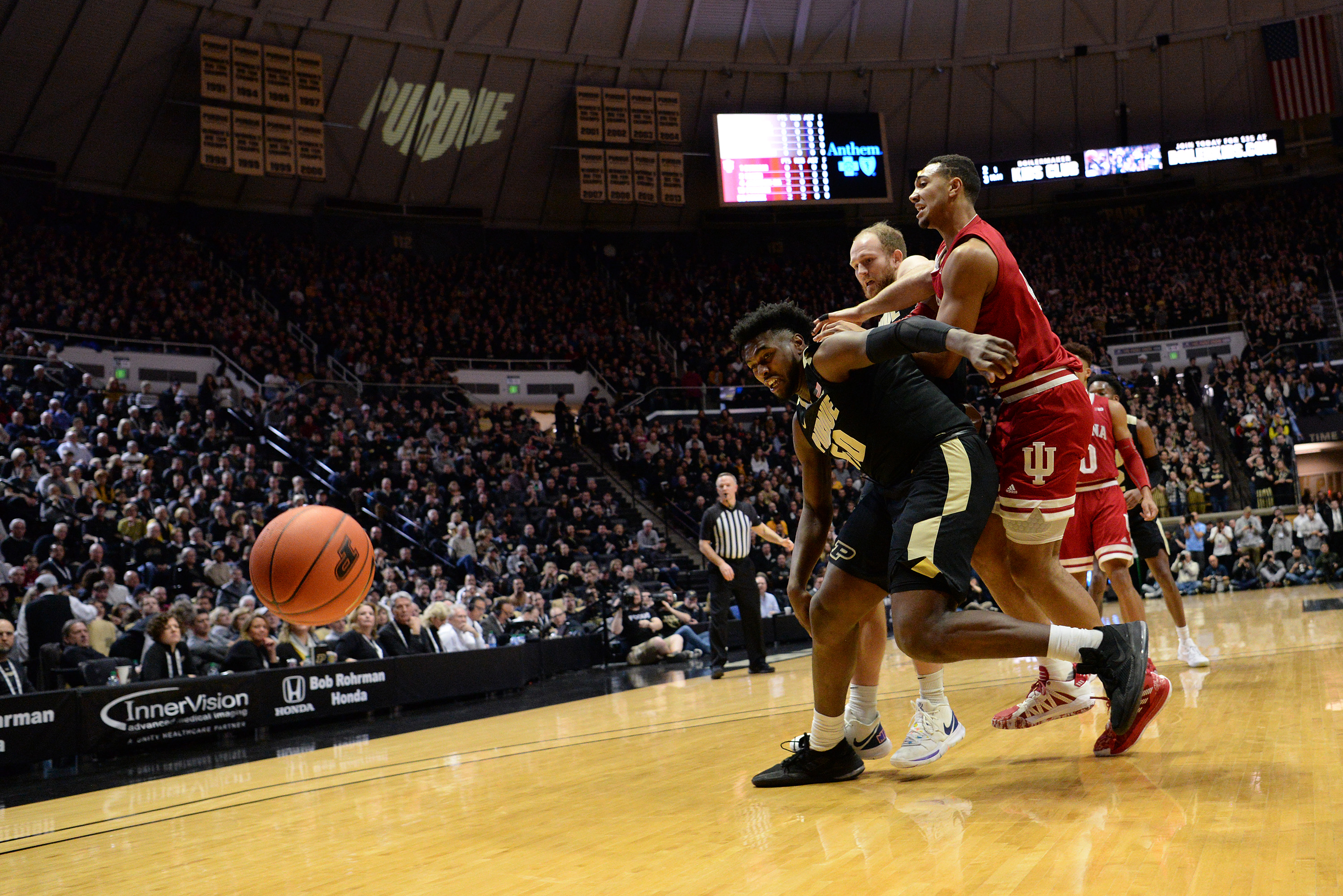 COLLEGE BASKETBALL: FEB 27 Indiana at Purdue