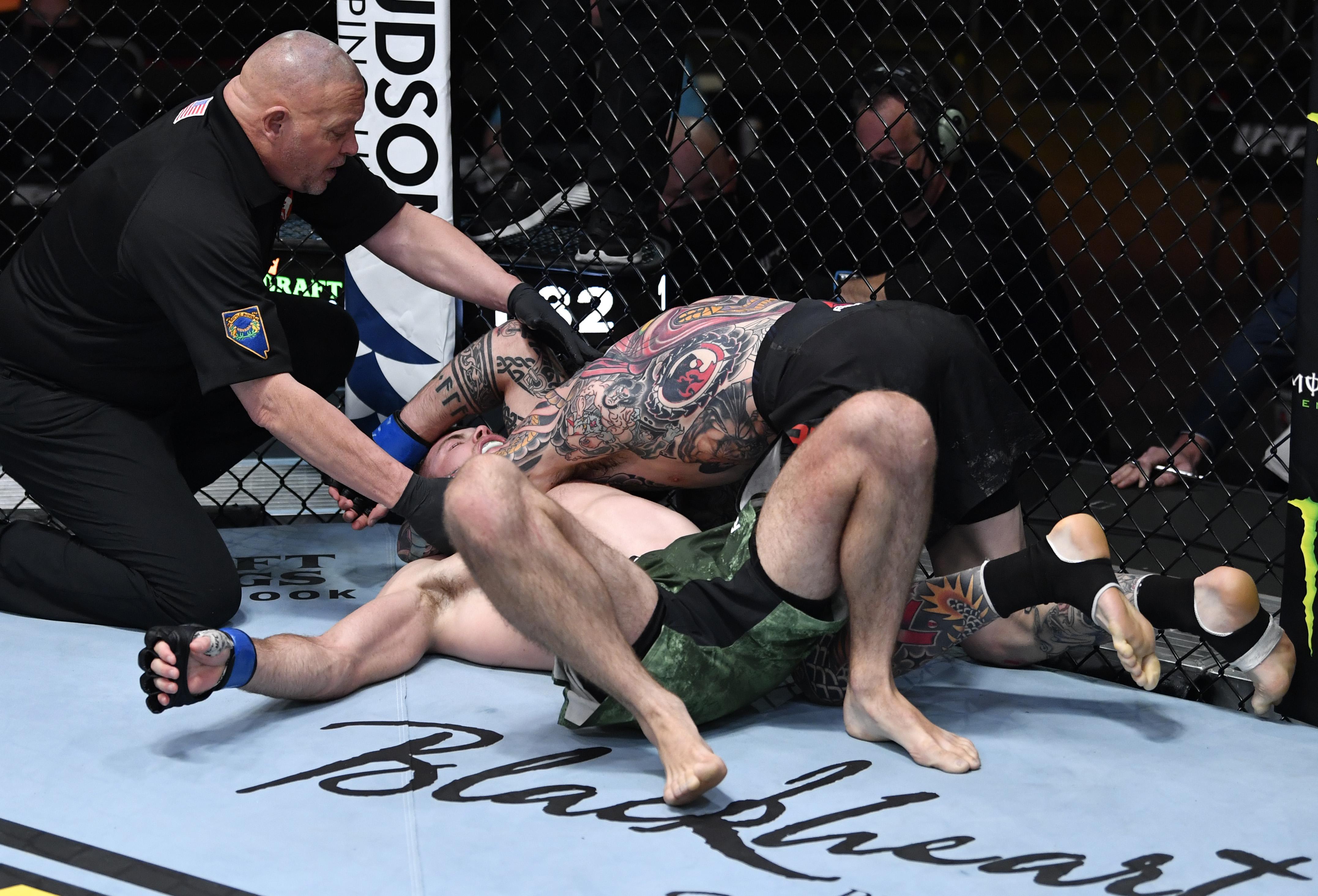 UFC 259: Brady v Matthews