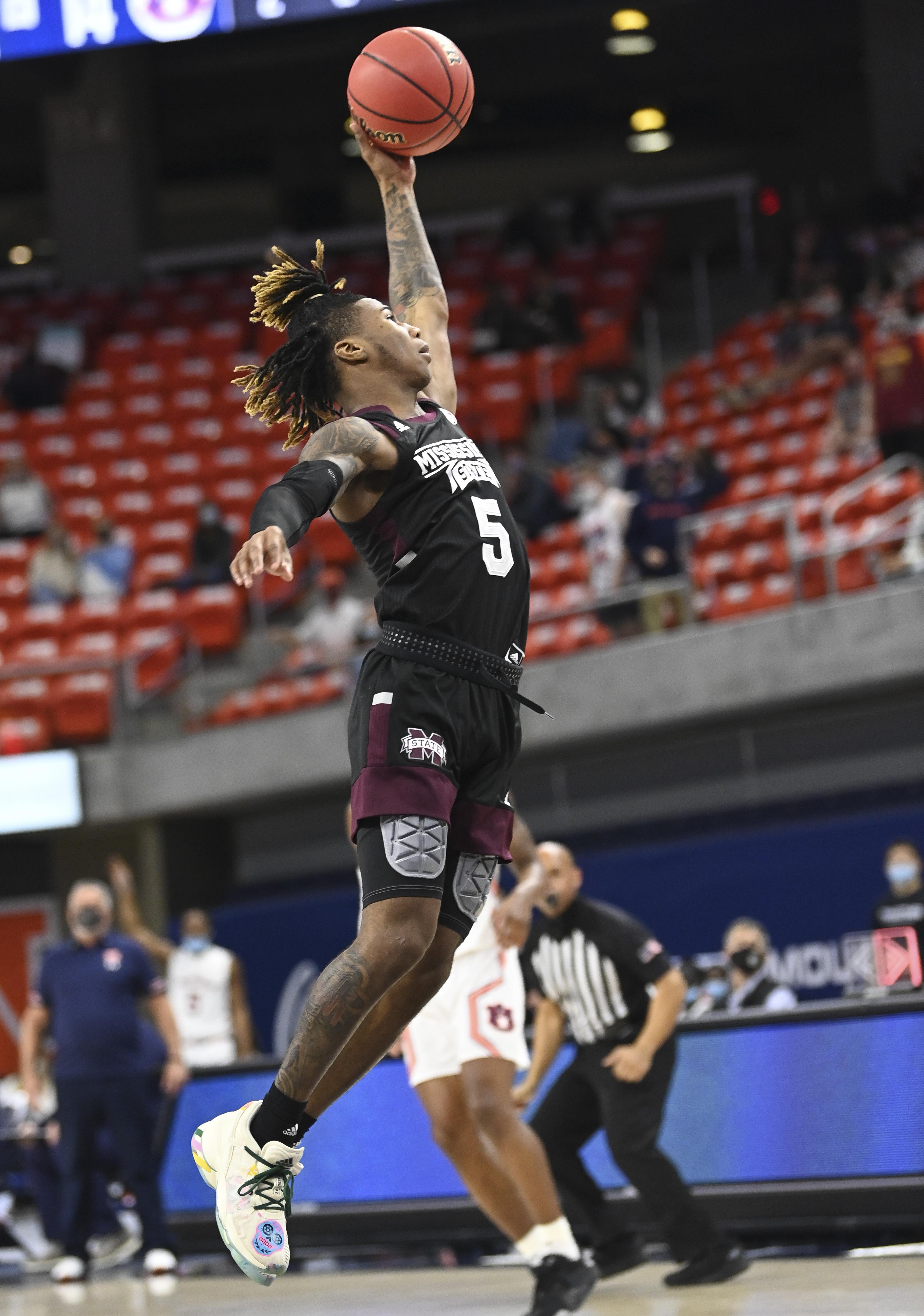 NCAA Basketball: Mississippi State at Auburn
