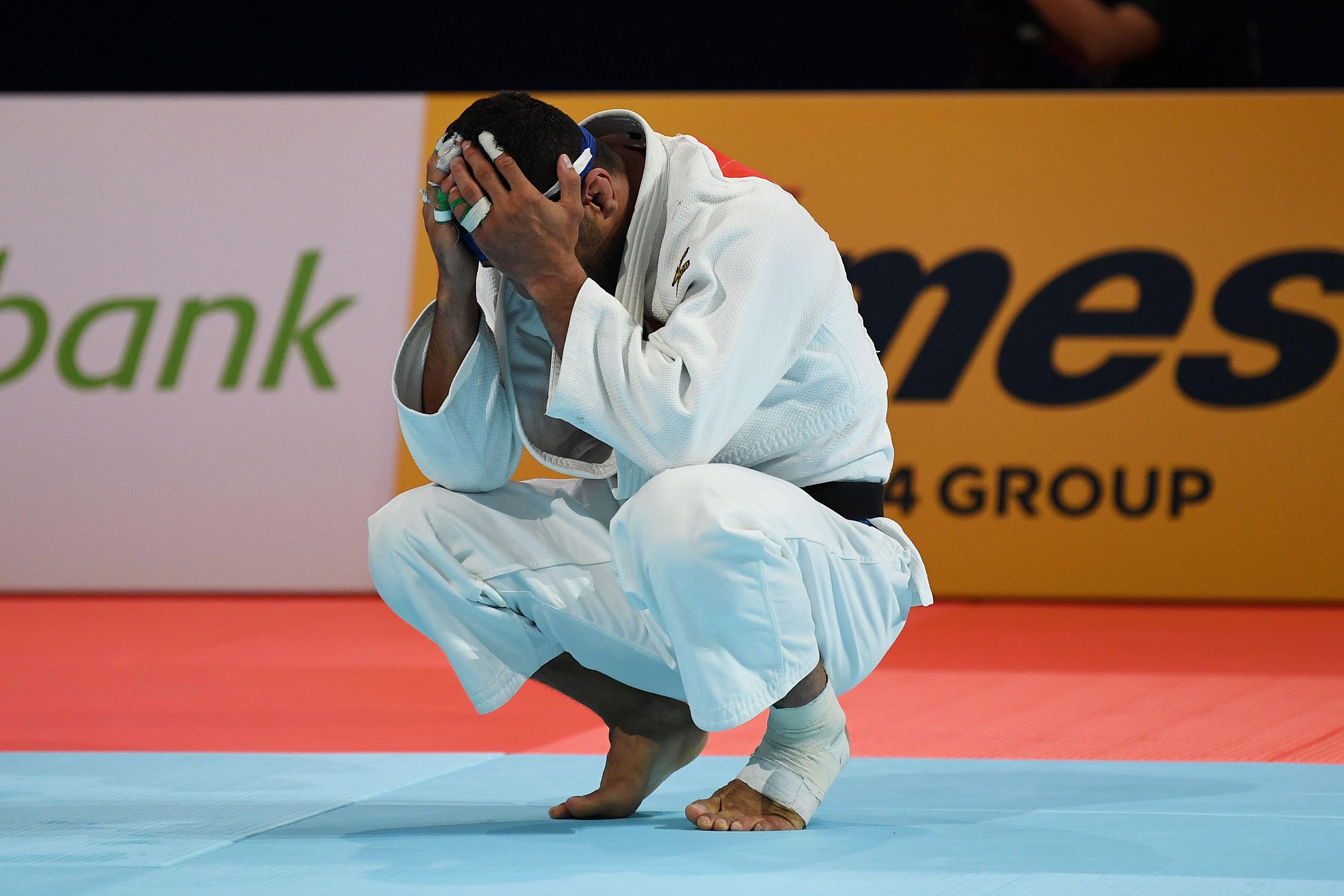 Saeid Mollaei who represented Iran in judo.