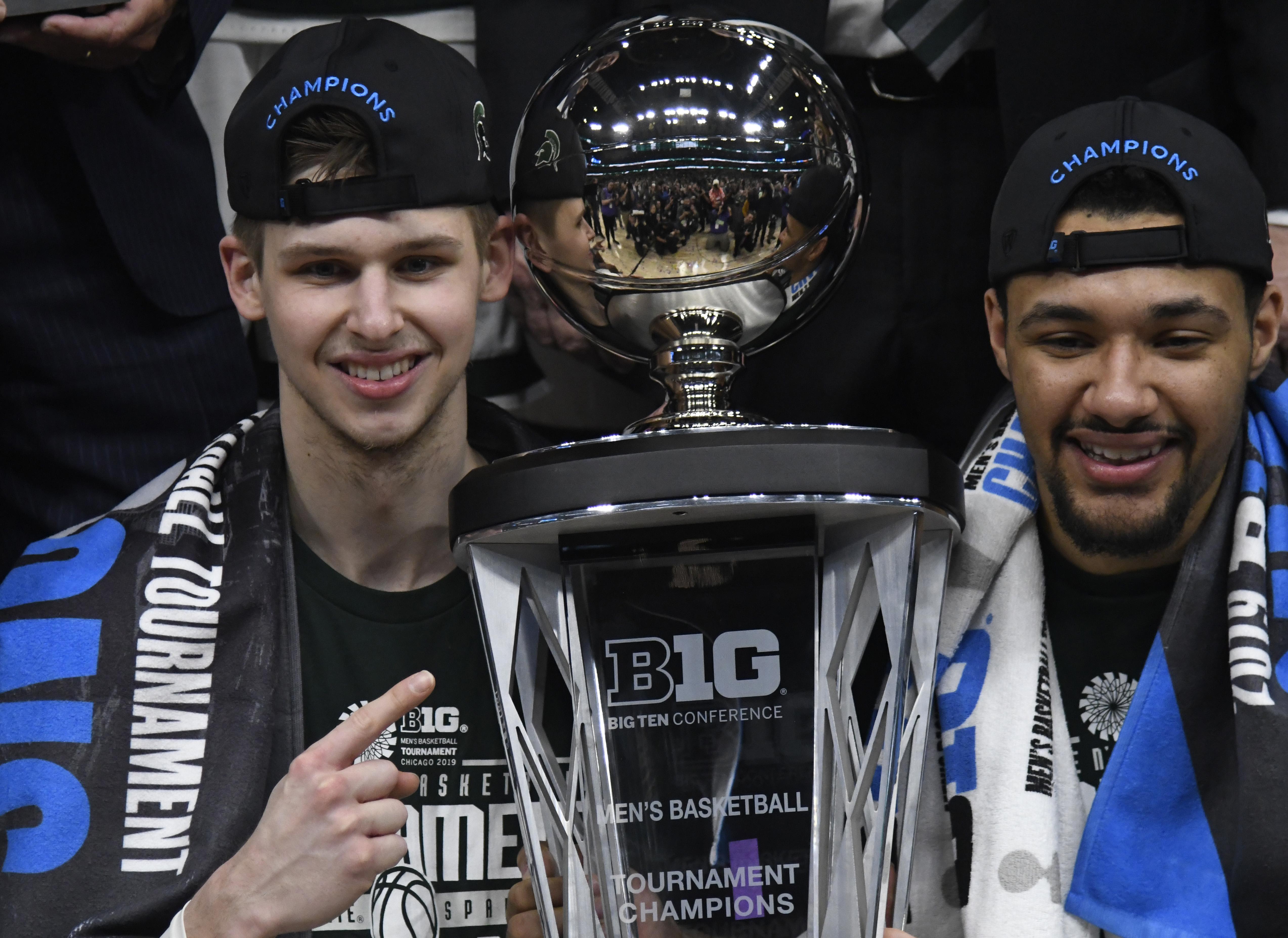 NCAA Basketball: Big Ten Conference Tournament-Michigan vs Michigan State