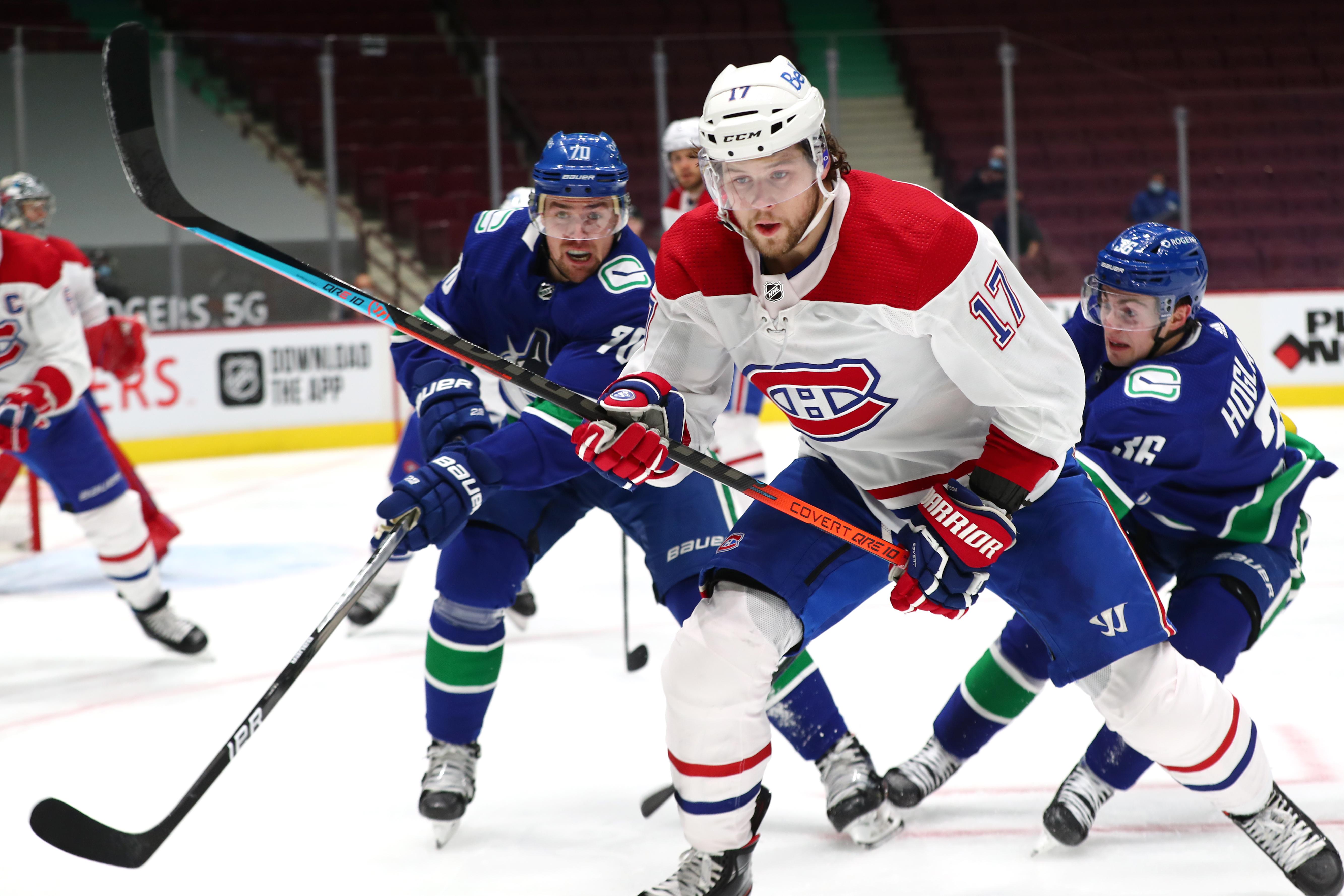 NHL: JAN 20 Canadiens at Canucks