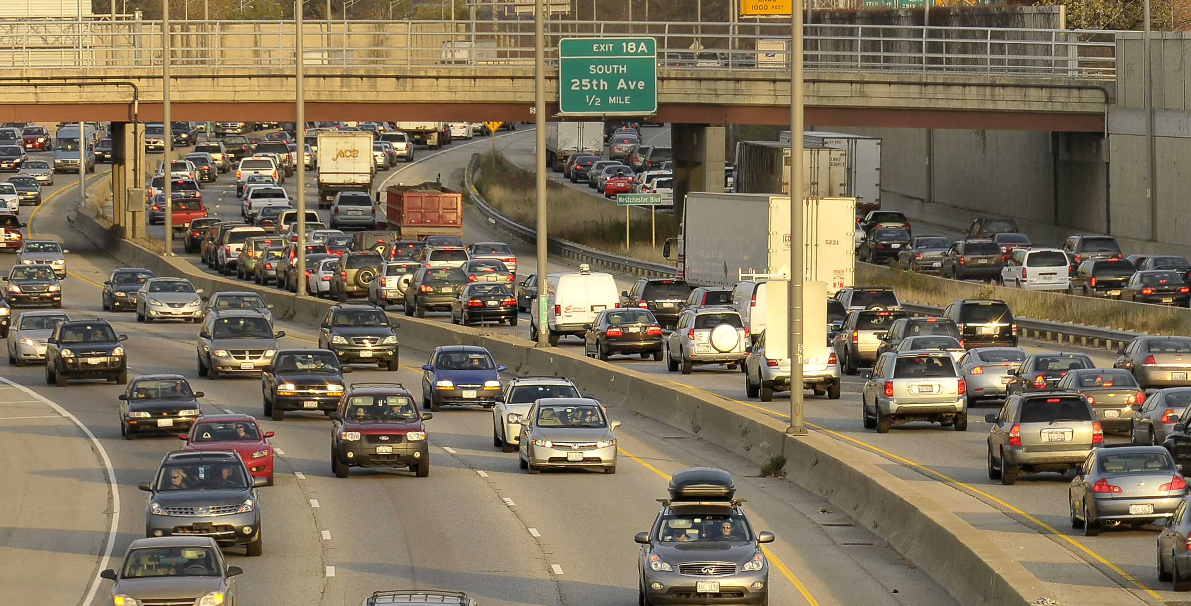The INRIX Global Traffic Scorecard annual report also lists the Eisenhower Expressway — particularly from I-290/294 to I-90/94 Interchange — as the most congested road in the country.