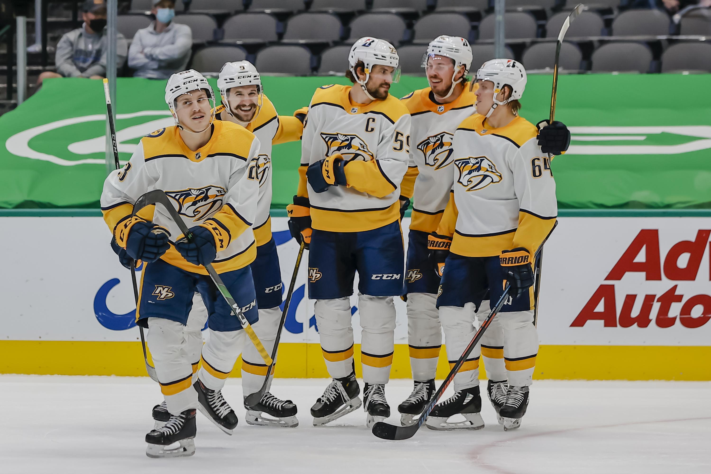 NHL: MAR 07 Predators at Stars