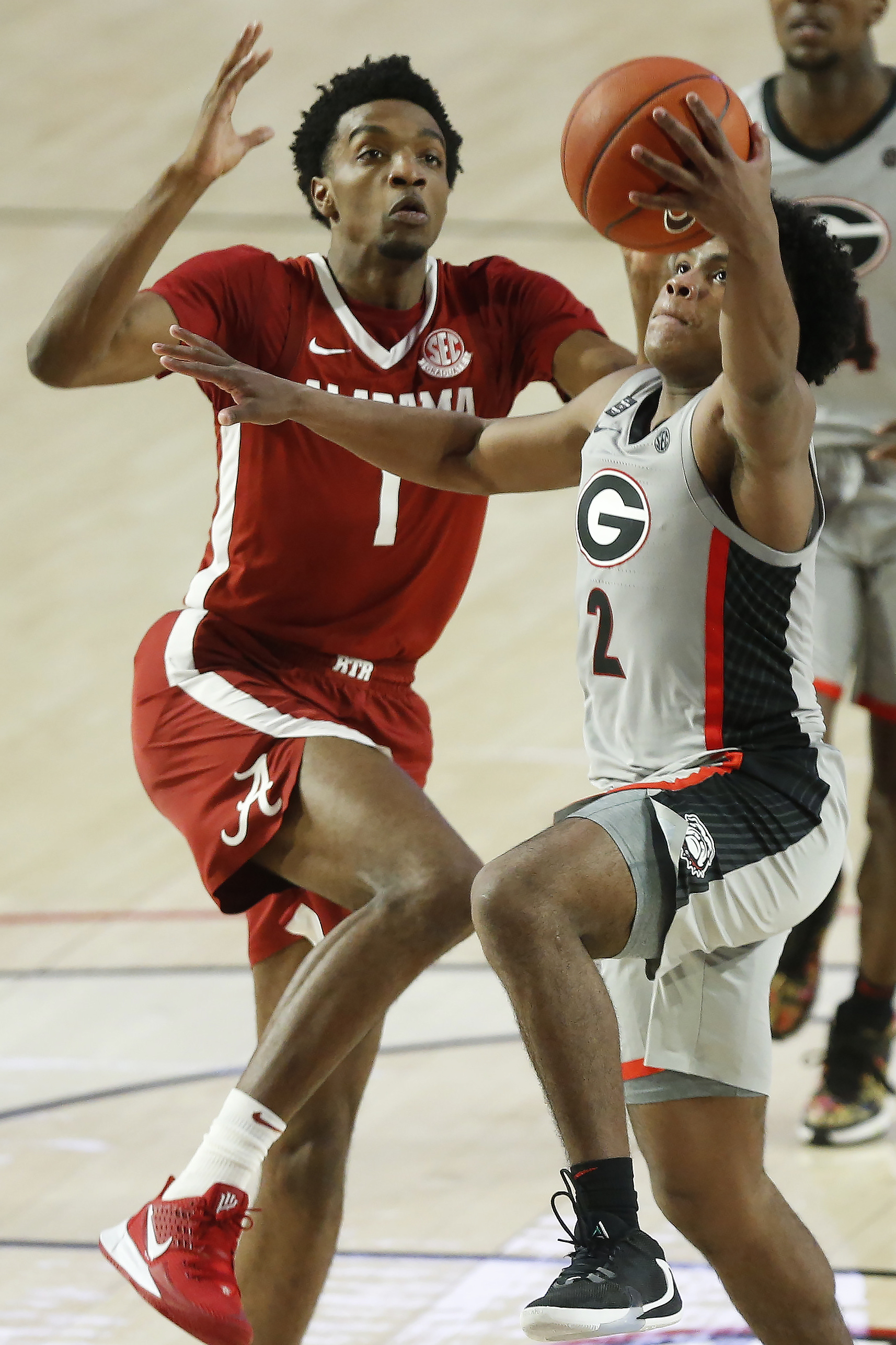"<p zoompage-fontsize=""15"" style="""">NCAA Basketball: Alabama at Georgia"