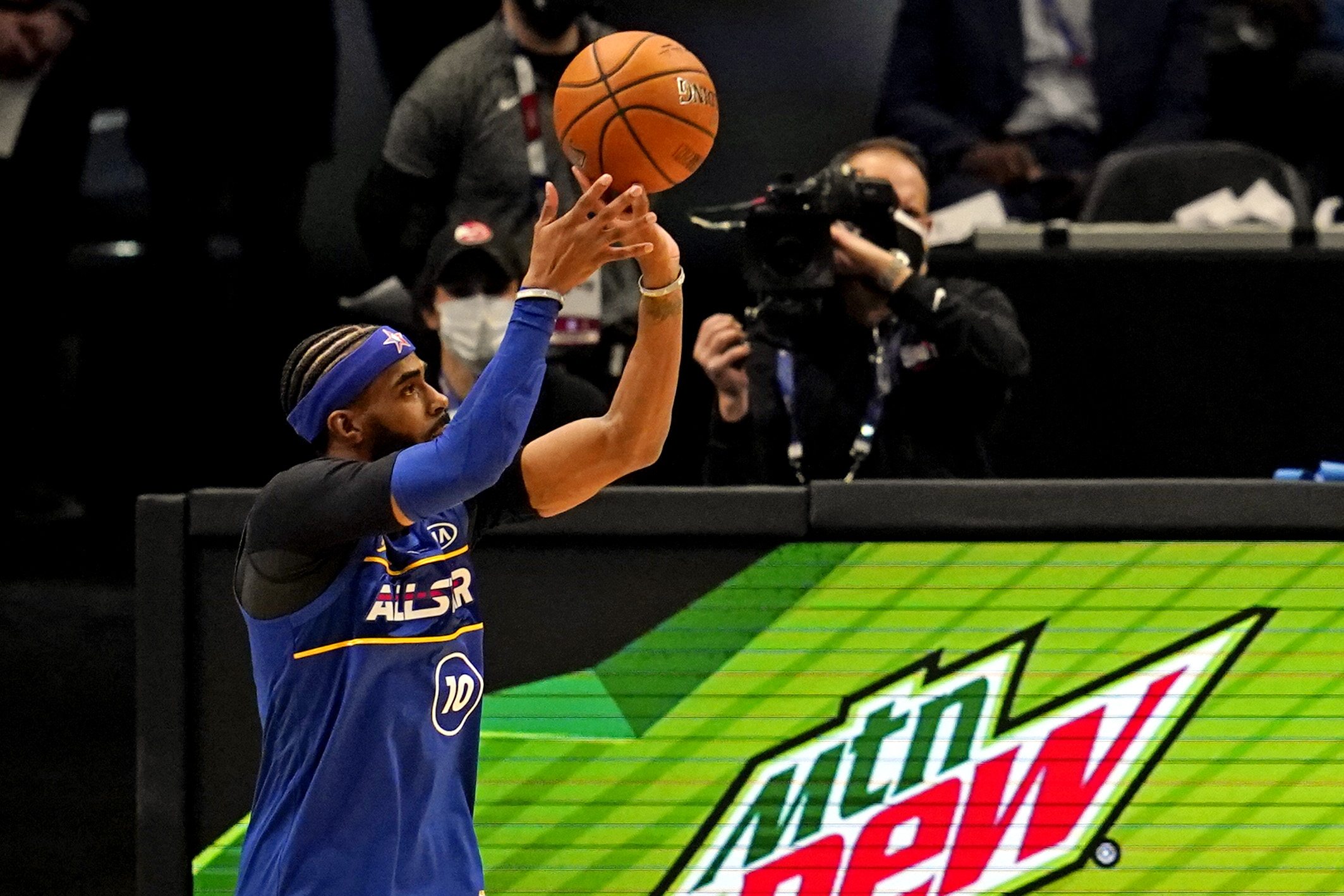 NBA: All Star Game-3 Point Contest