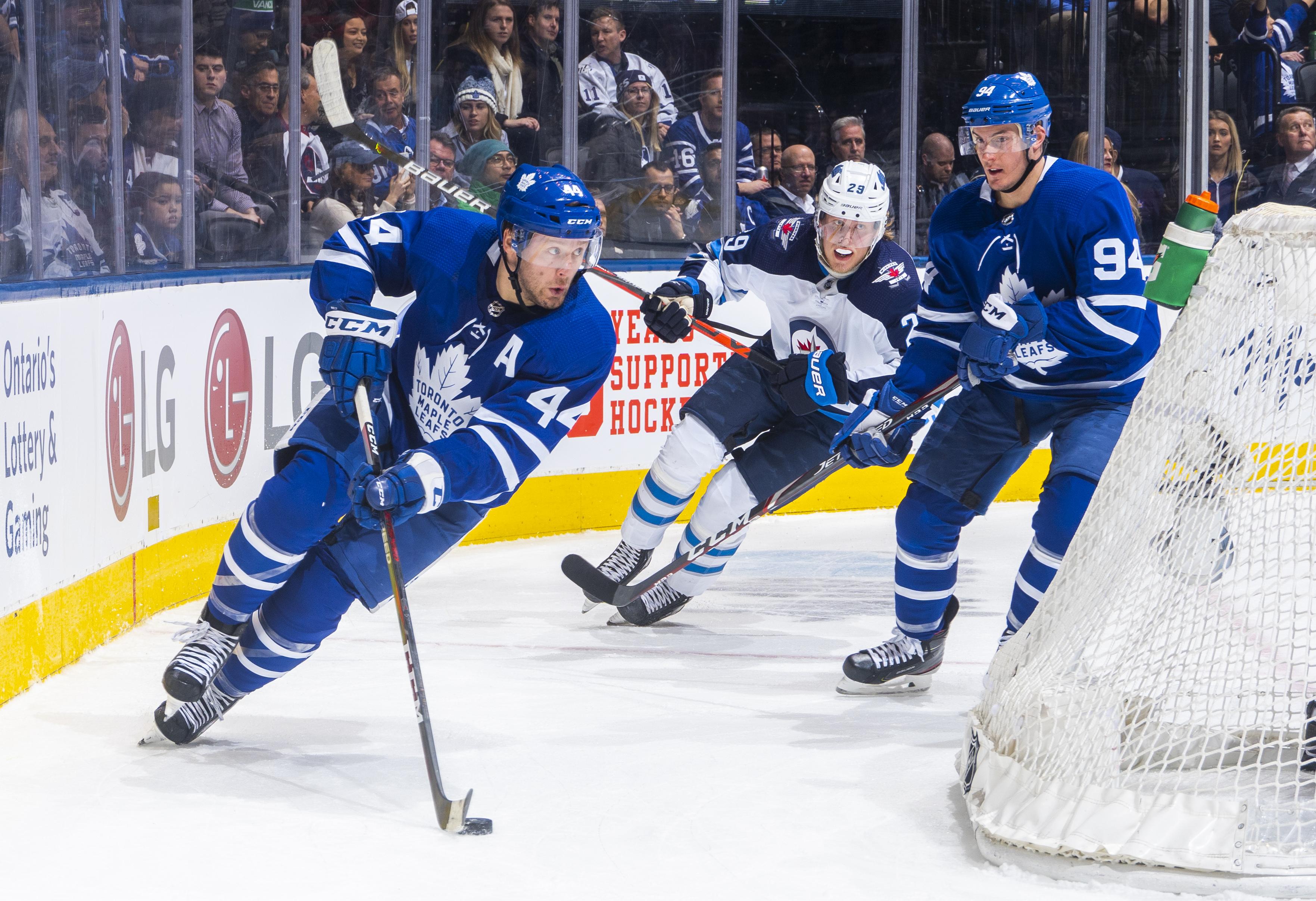 Winnipeg Jets v Toronto Maple Leafs