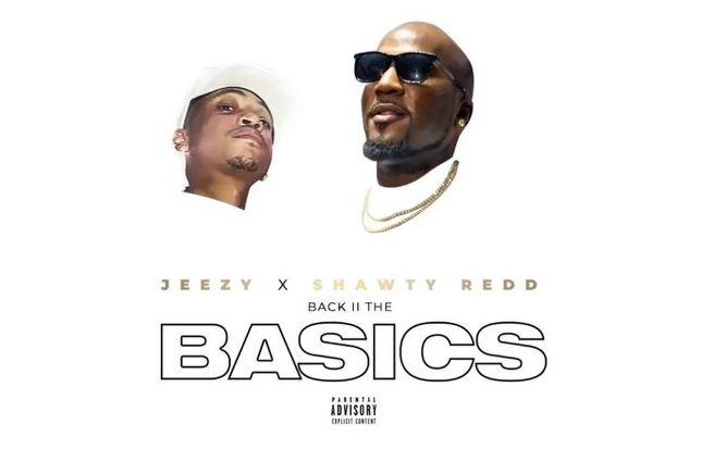 "Jeezy and Shawty Redd's ""Back II The Basics"" artwork"