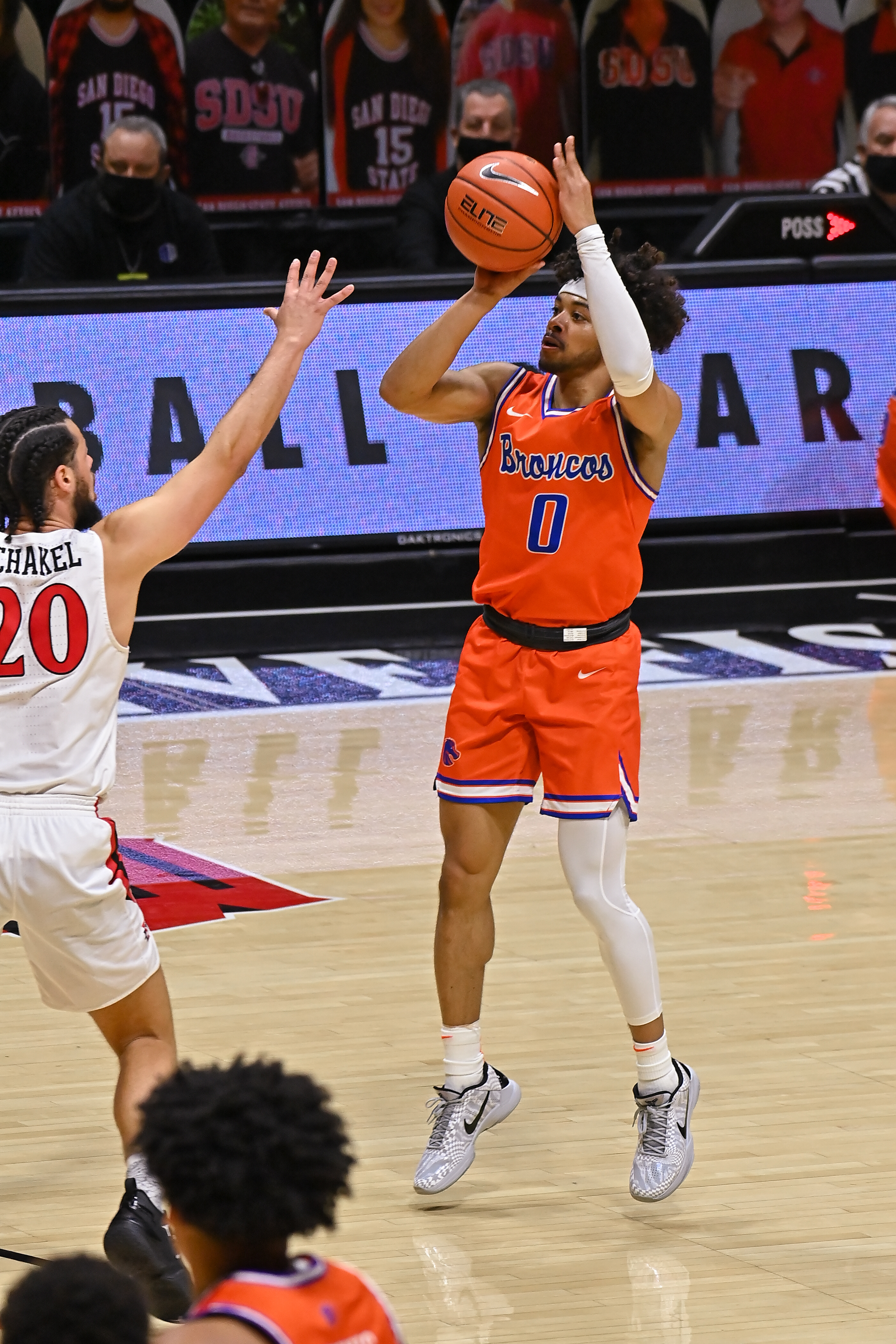 COLLEGE BASKETBALL: FEB 27 Boise State at San Diego State