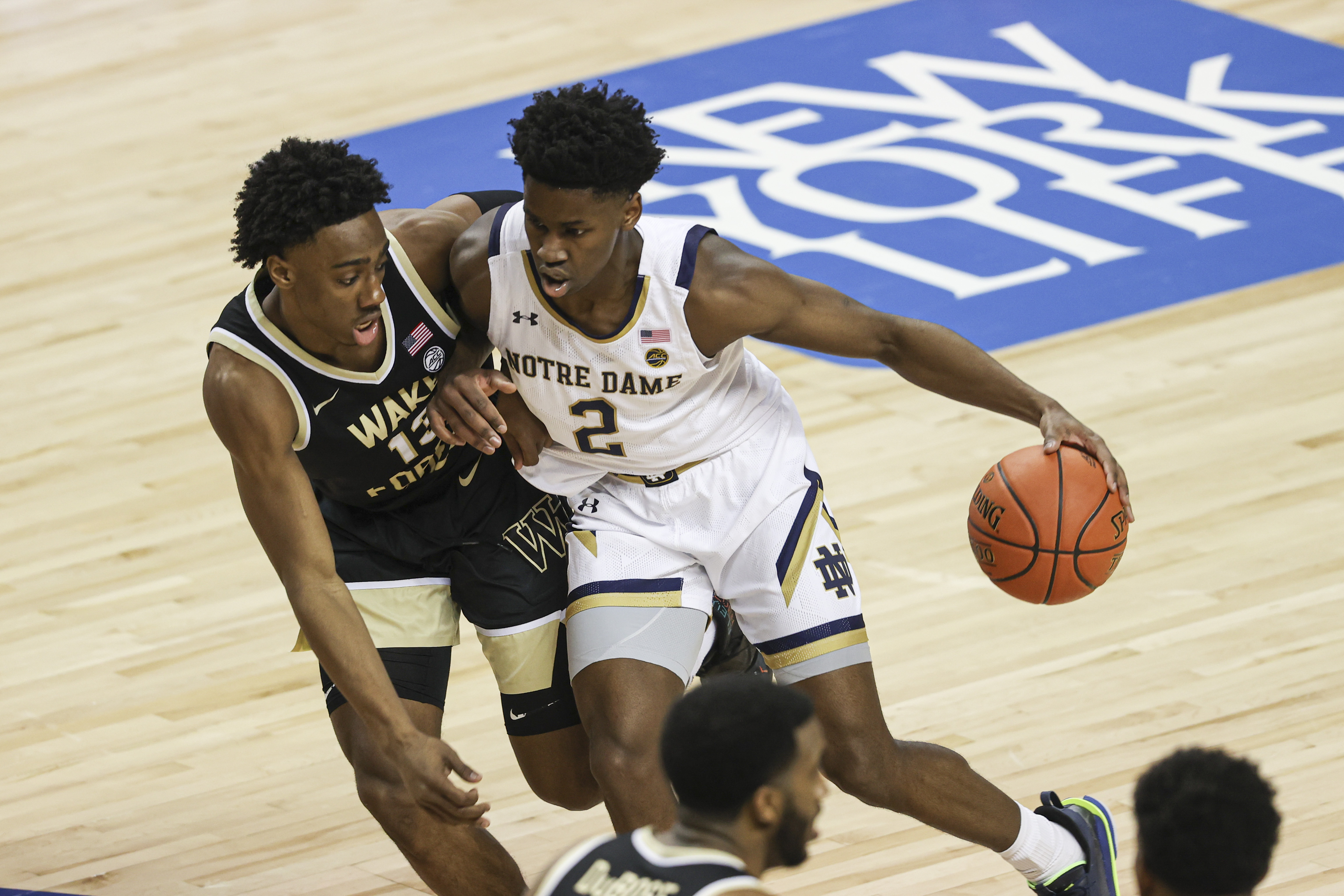 NCAA Basketball: ACC Conference Tournament-Notre Dame Wake Forest