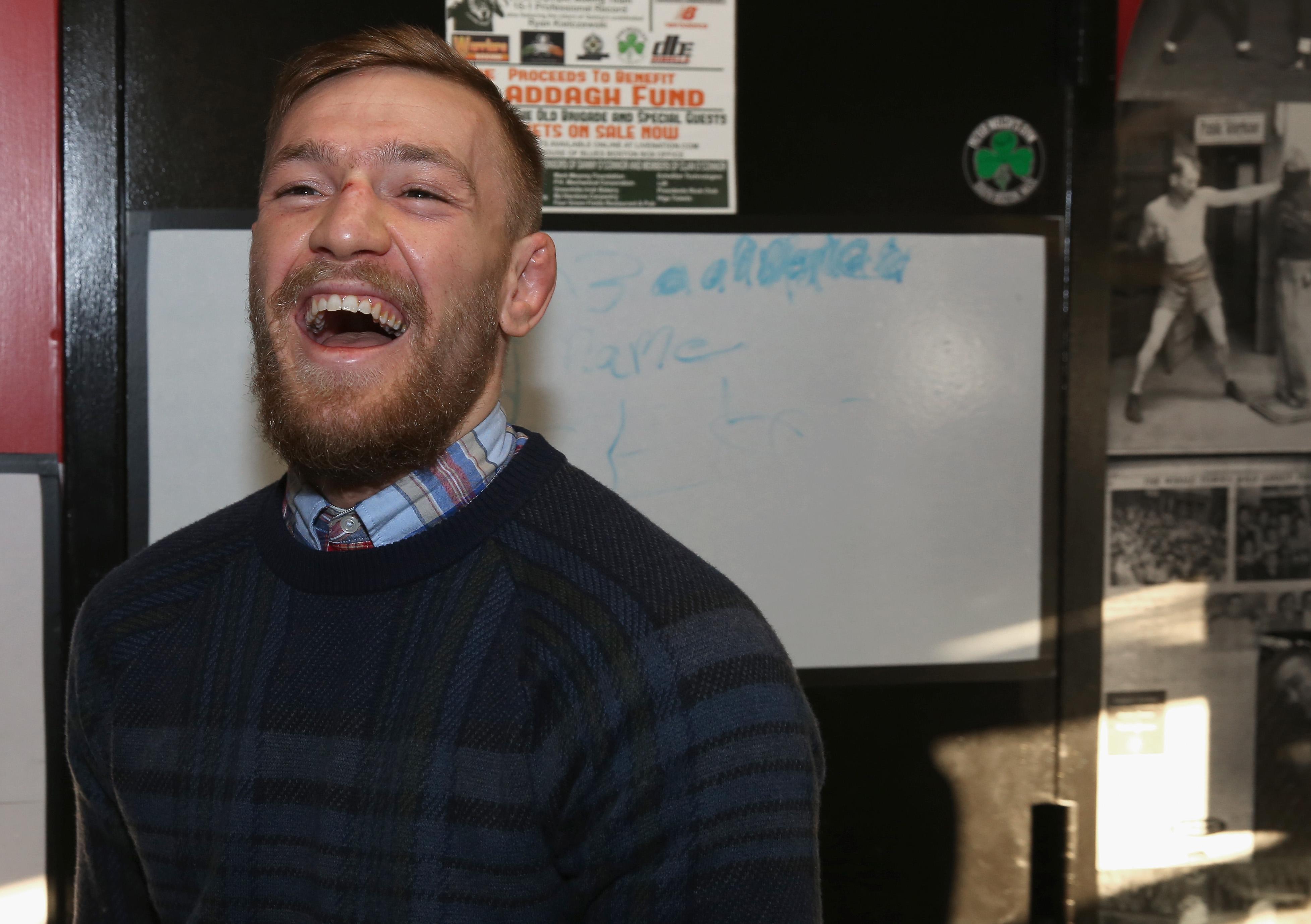 UFC Star Conor McGregor Community Event