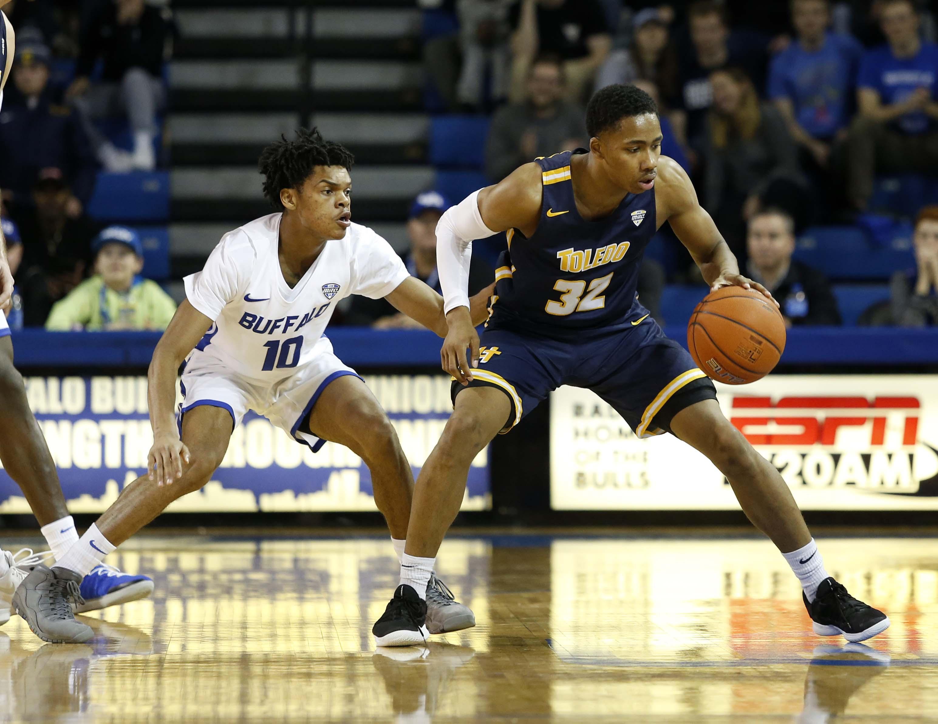 NCAA Basketball: Toledo at Buffalo