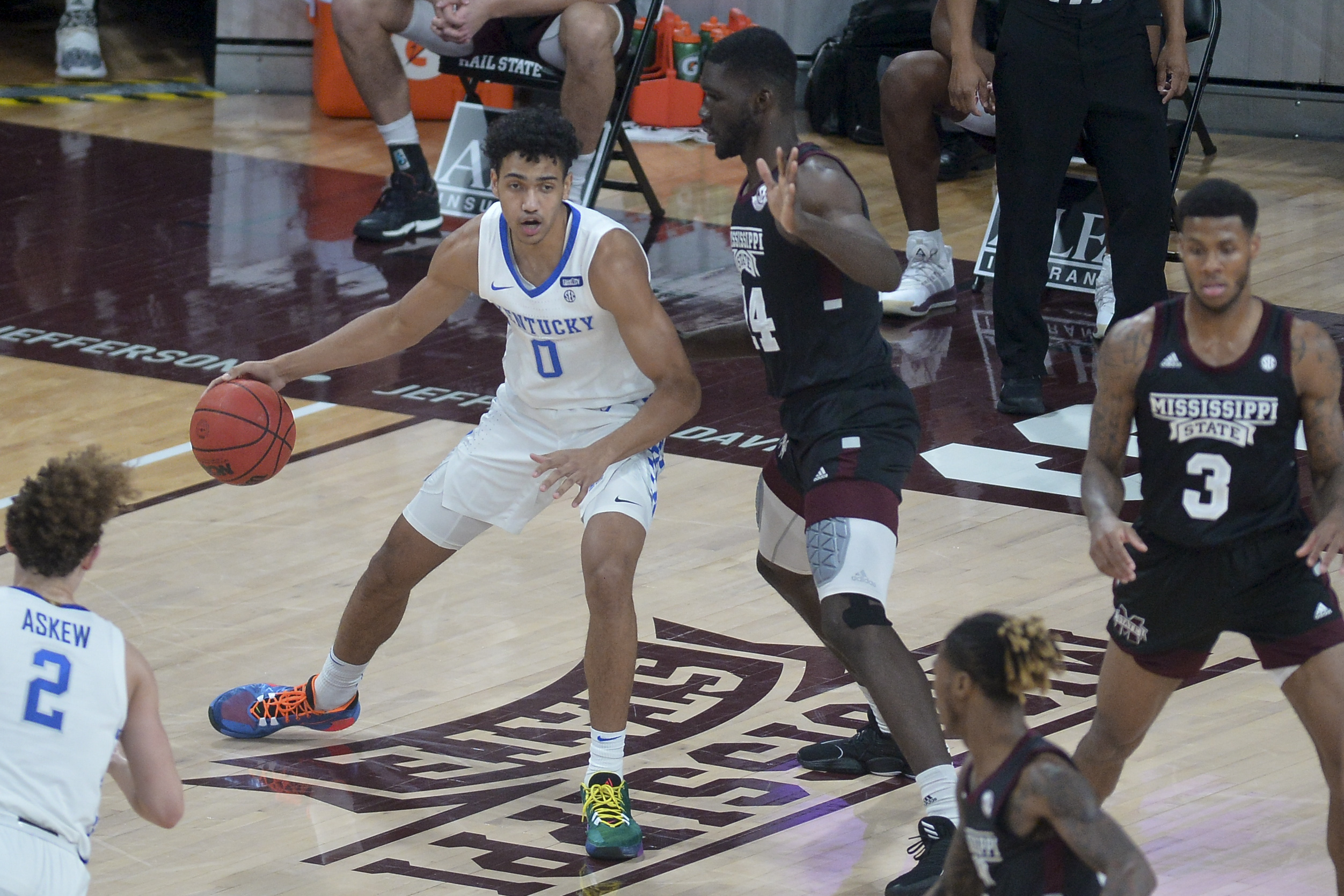NCAA Basketball: Kentucky at Mississippi State