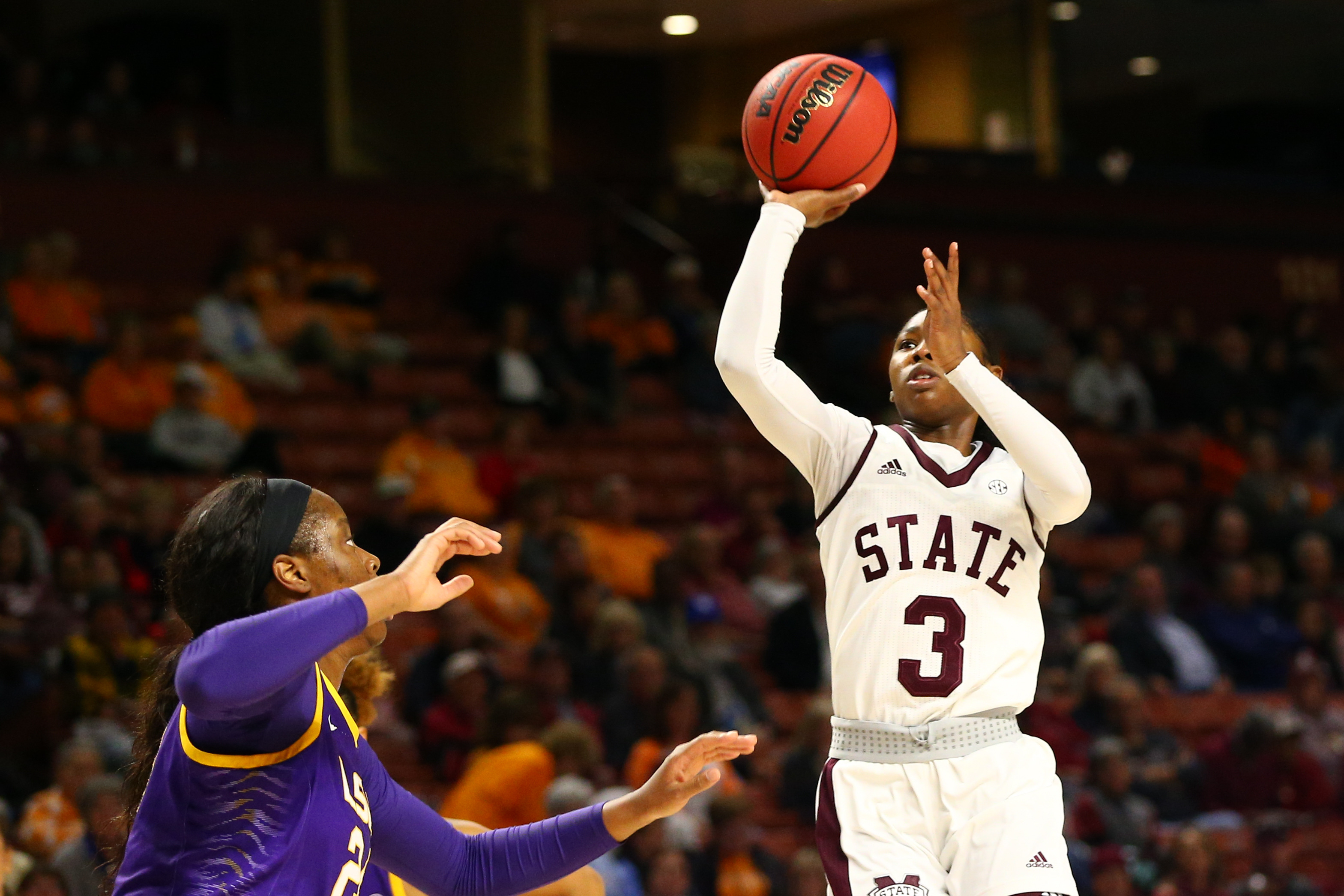 NCAA Womens Basketball: SEC Conference Tournament-Louisiana State vs Mississippi State